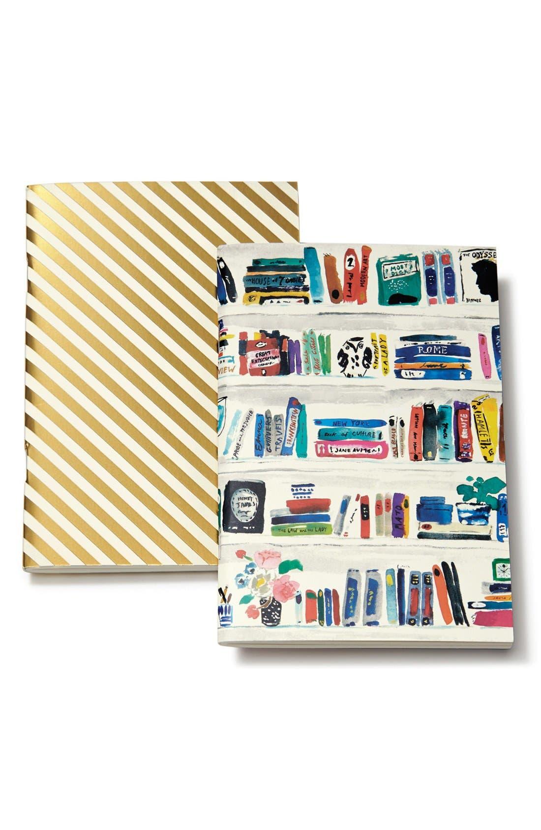 Alternate Image 1 Selected - kate spade new york notebooks (set of 2)