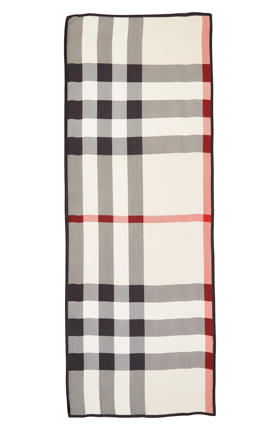 Burberry Mega Check Silk Scarf