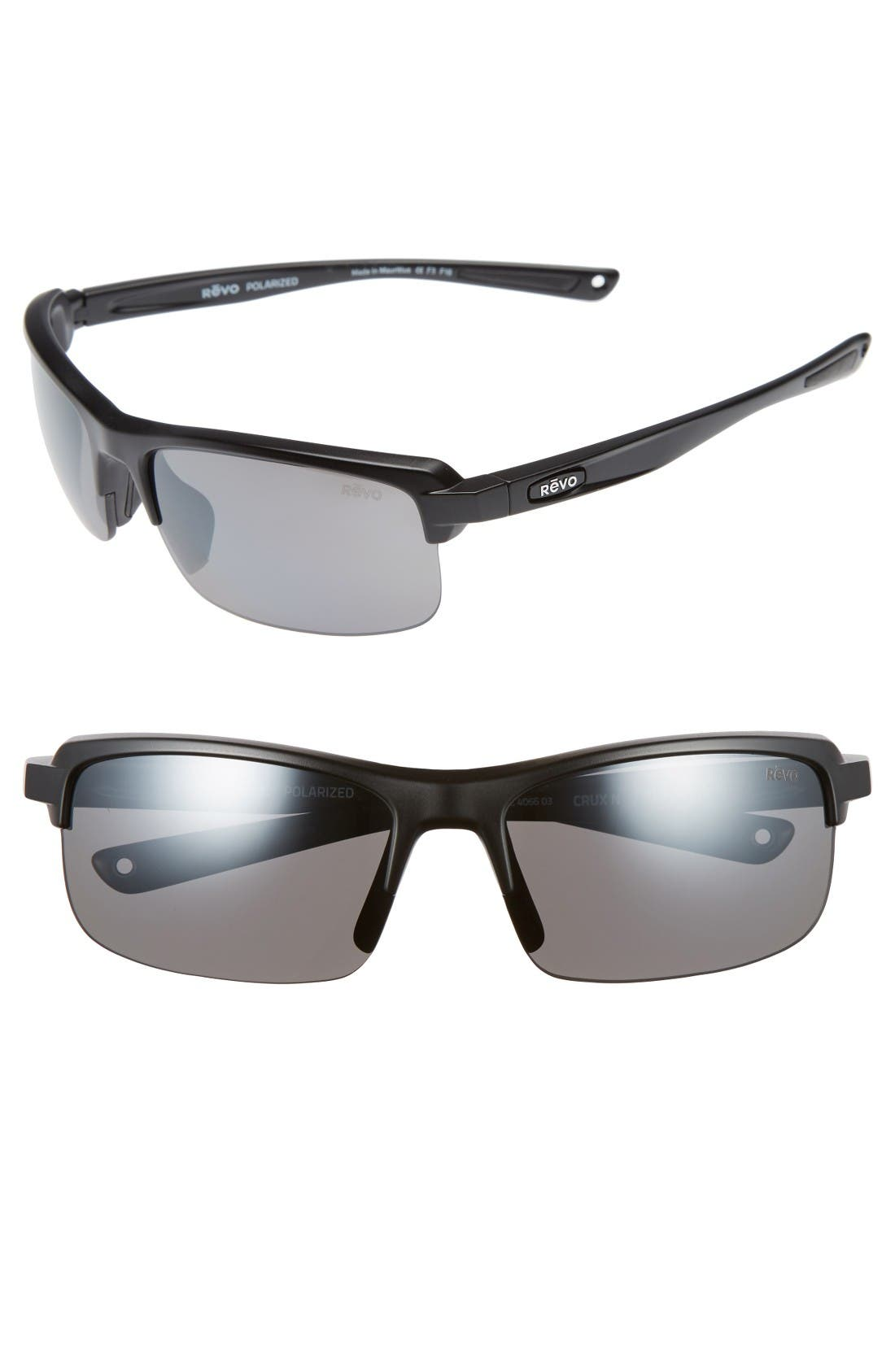 REVO 'Crux N' 62mm Polarized Sunglasses