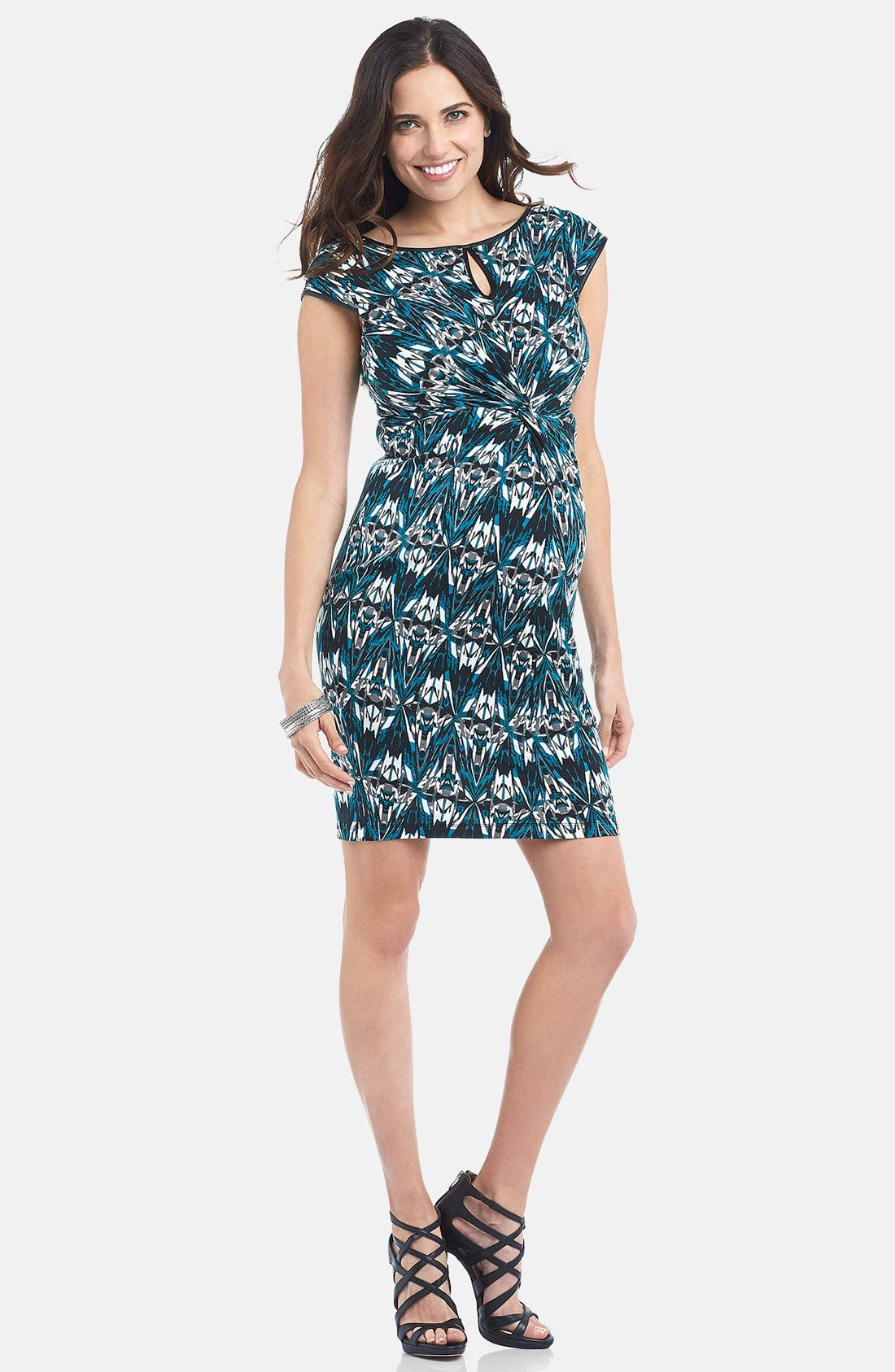 Main Image - Tart Maternity 'Rikki' Knotted Maternity Dress