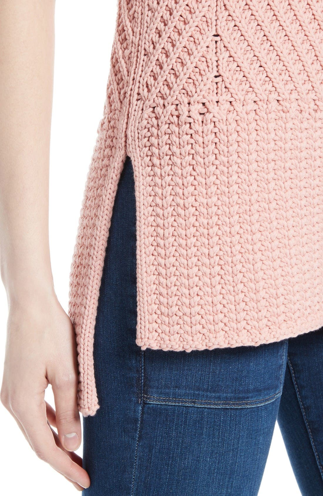 Alternate Image 4  - Alice + Olivia Abbot Mock Neck Sweater
