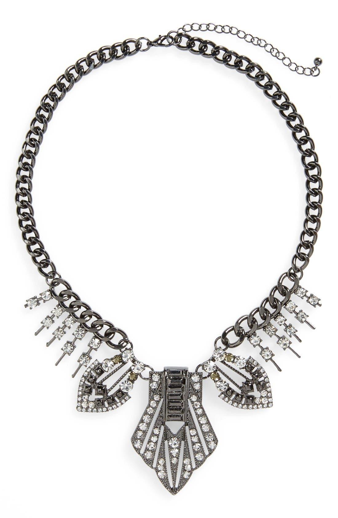 Main Image - Topshop Statement Collar Necklace