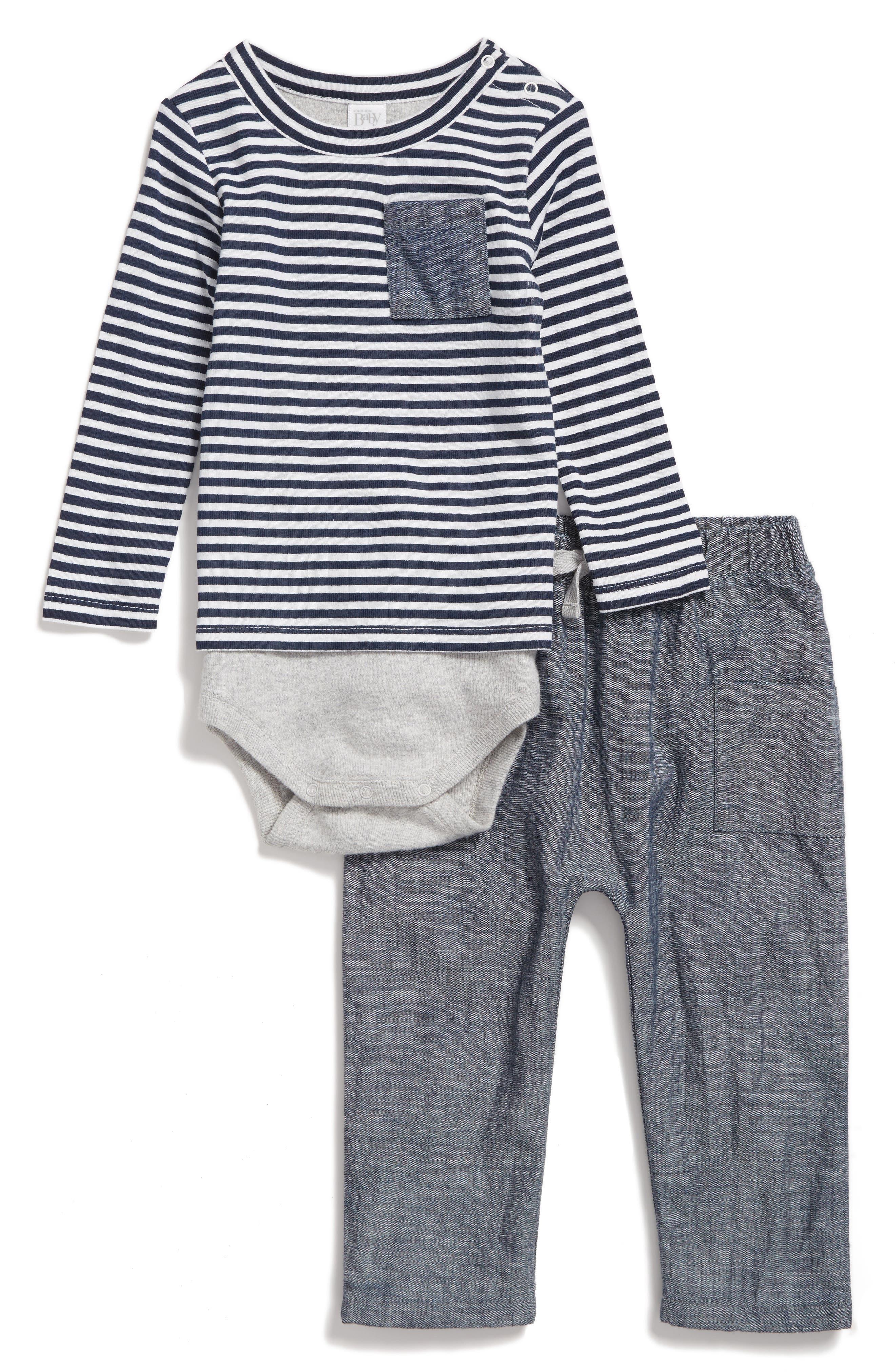 NORDSTROM BABY Bodysuit & Pants Set