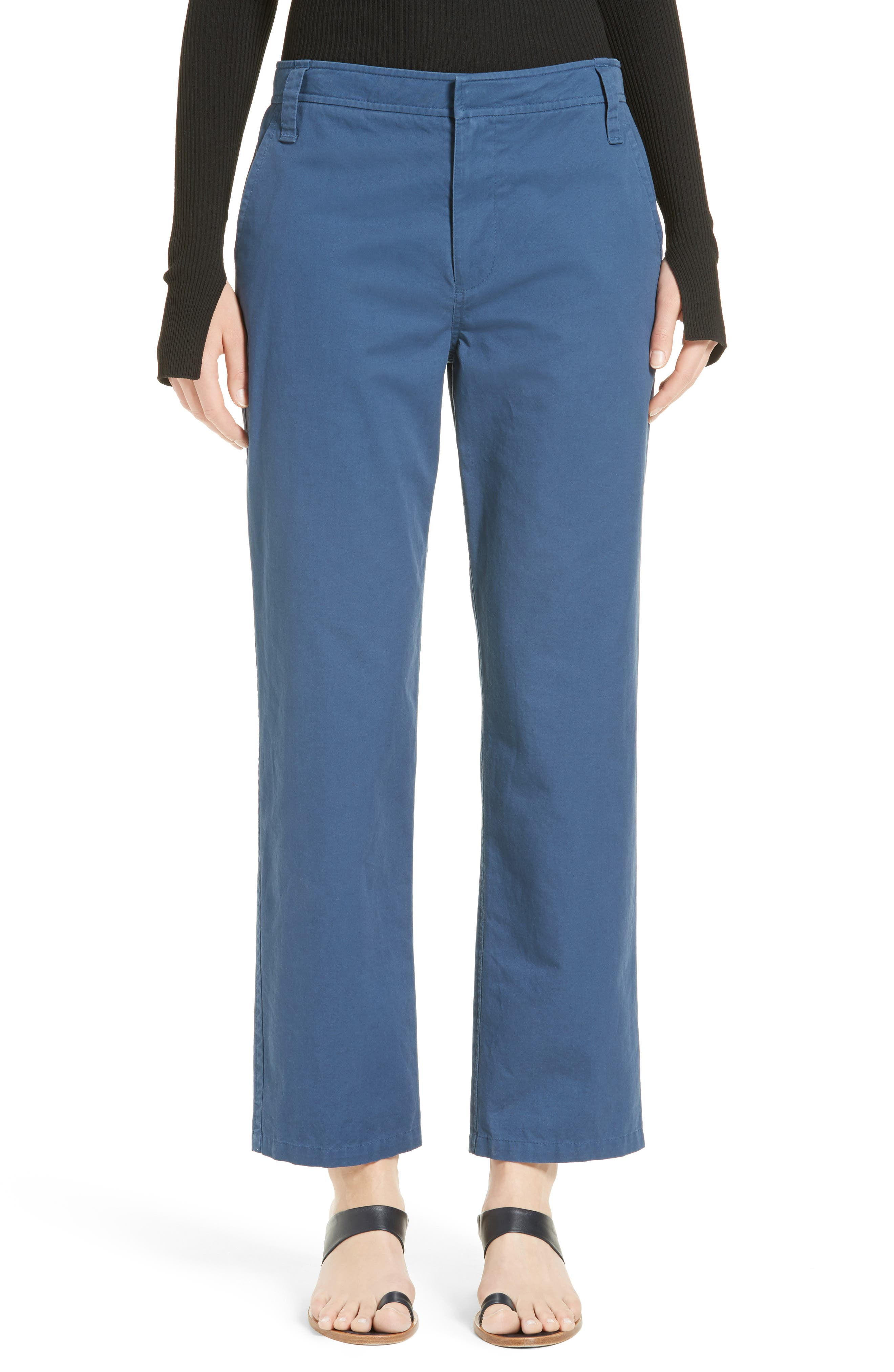 Main Image - Tibi Slouchy Enzyme Twill Pants