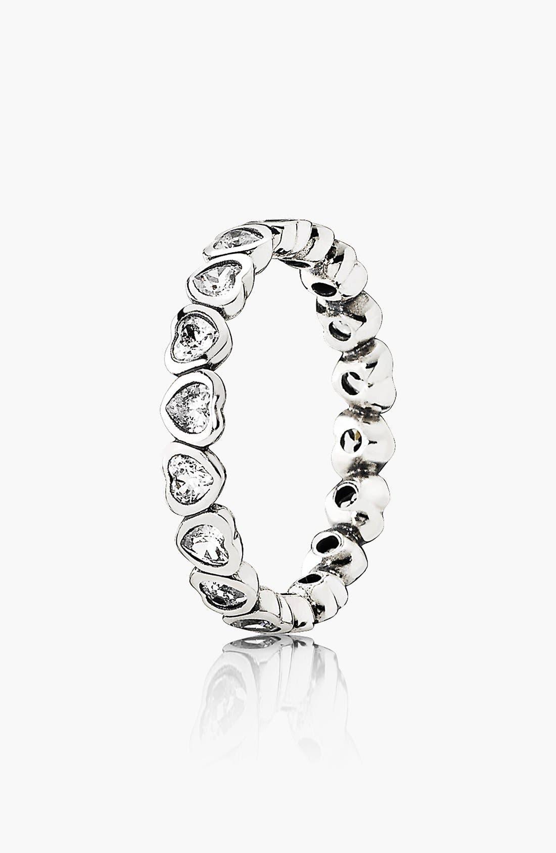 Alternate Image 1 Selected - PANDORA 'Forever More' Ring