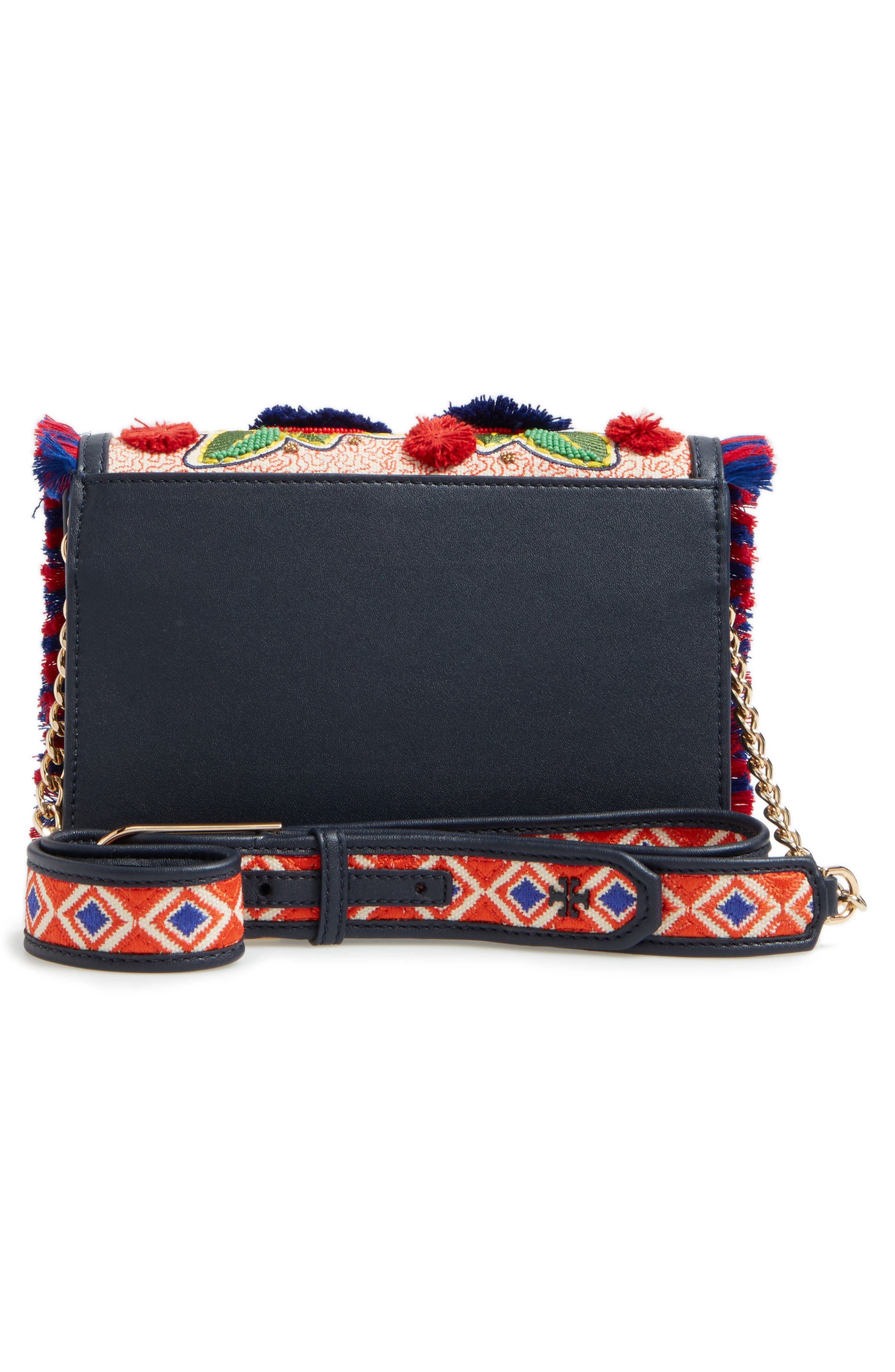 Alternate Image 2  - Tory Burch Embroidered Floral Crossbody Bag