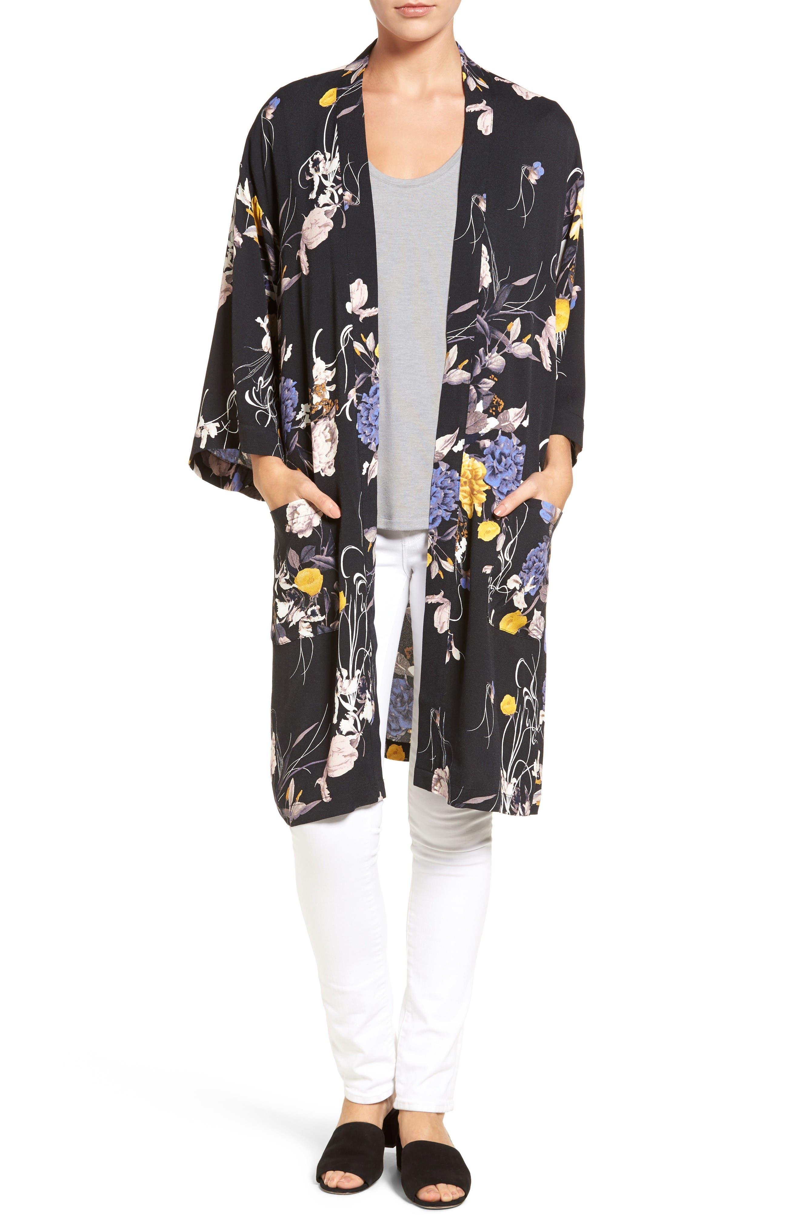 Alternate Image 1 Selected - Chelsea28 Open Kimono