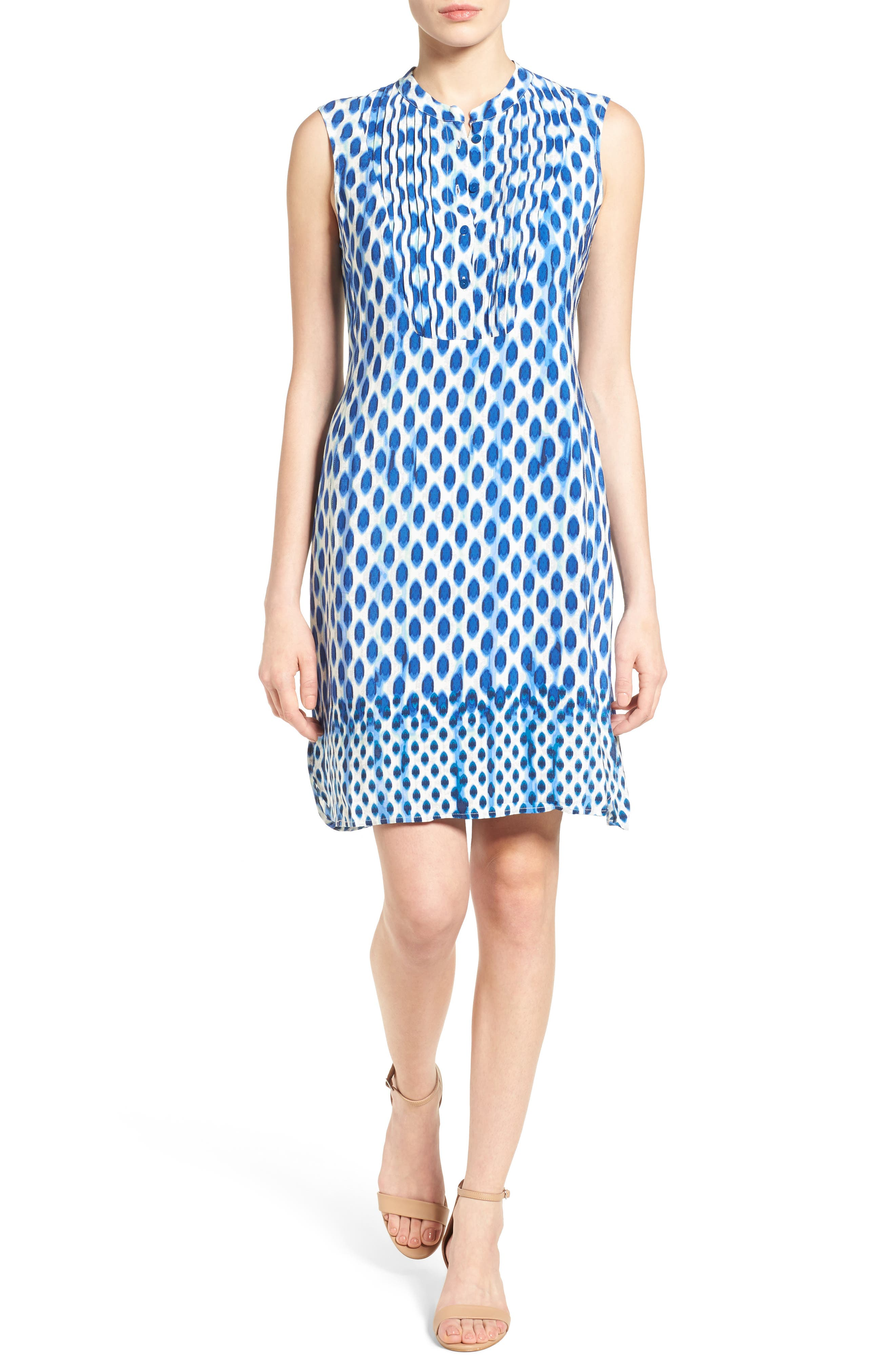 NIC+ZOE Falling Dots Shift Dress