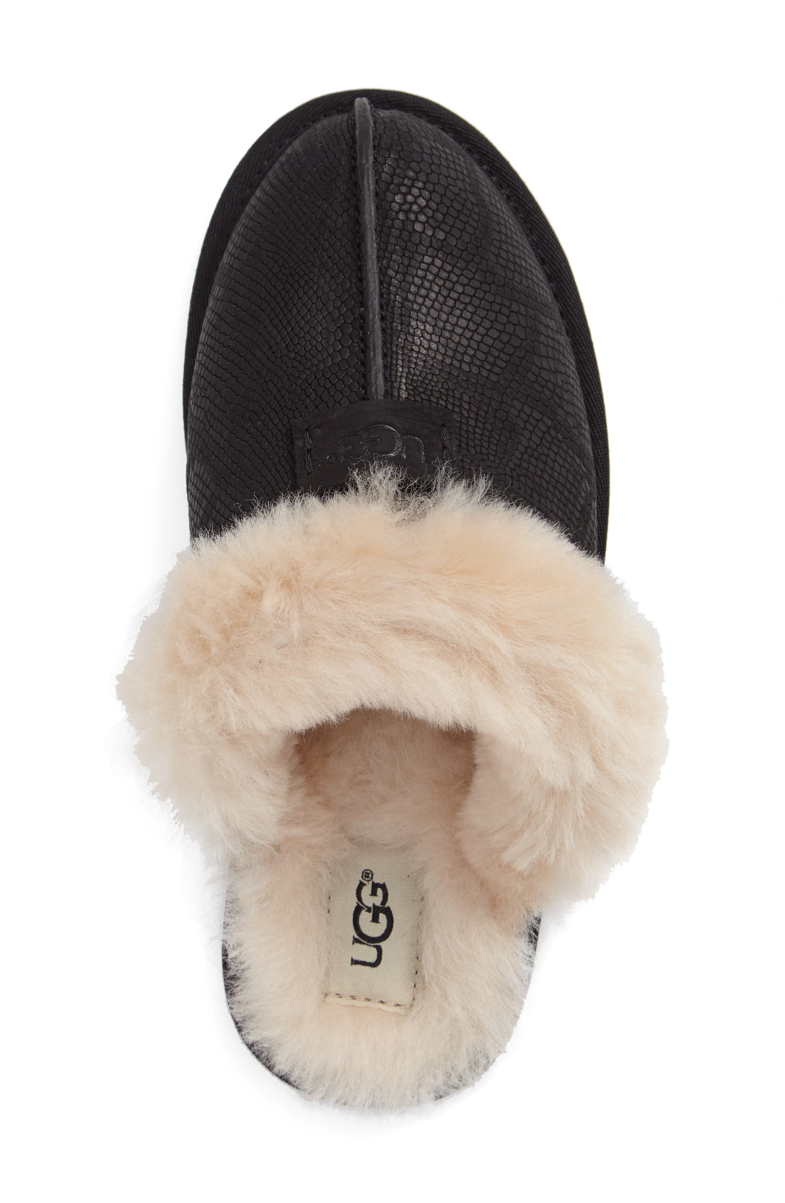 Alternate Image 3  - UGG® Scuffette II Snake Embossed Slipper (Women)