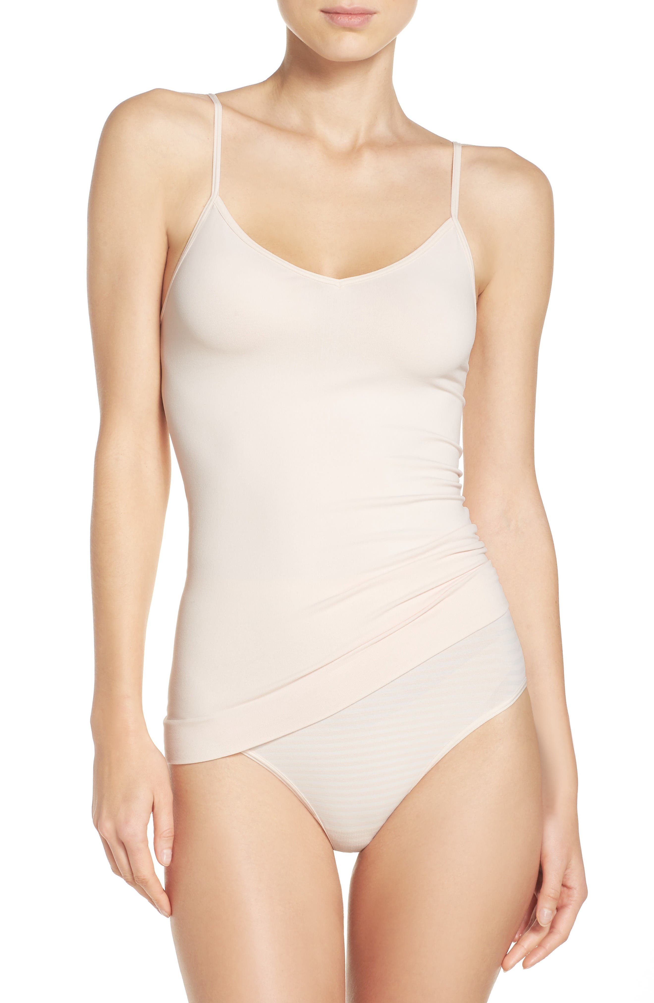 Nordstrom Two-Way Seamless Camisole & Full Briefs