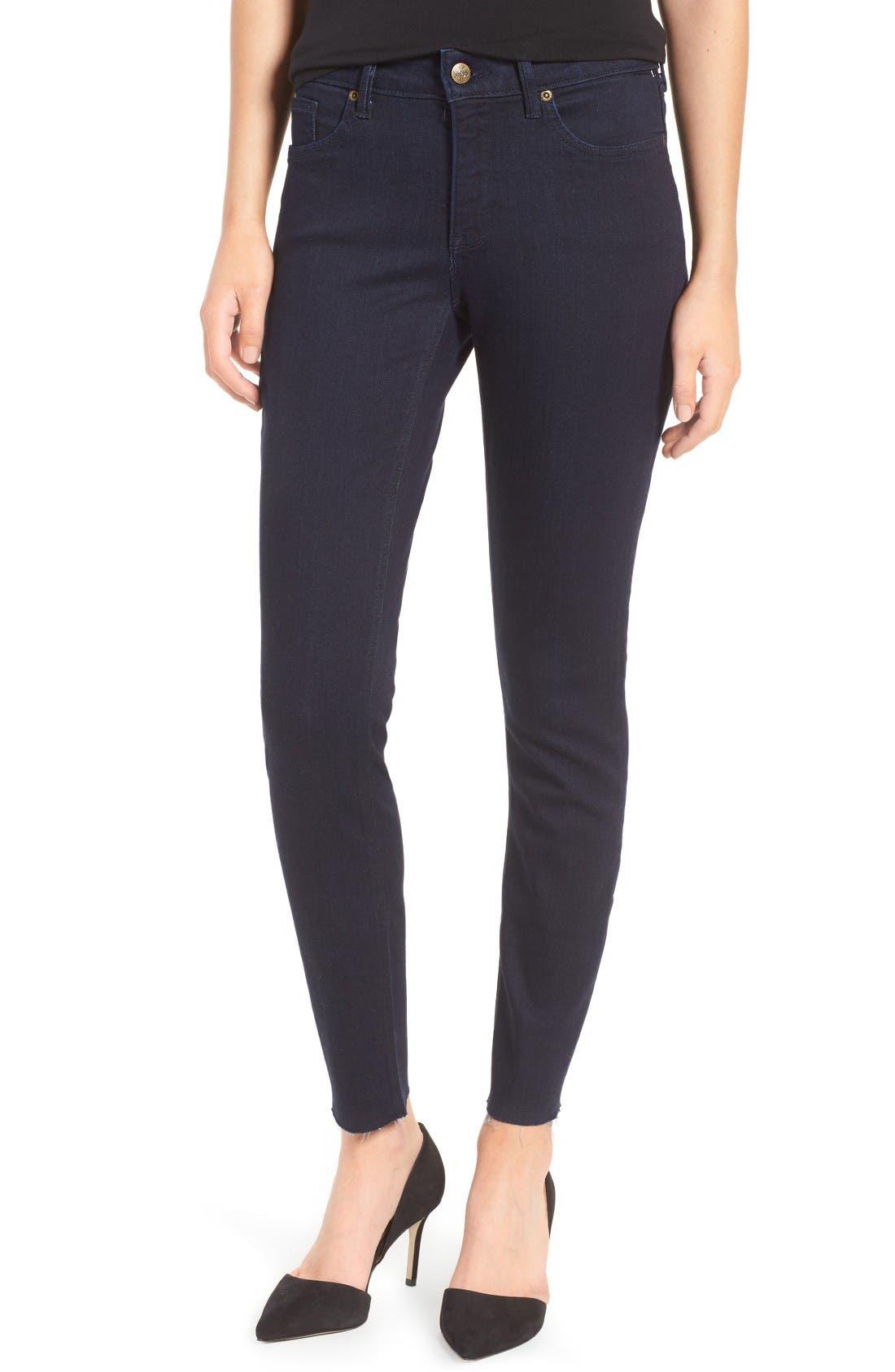 NYDJ Ami Raw Hem Stretch Skinny Jeans