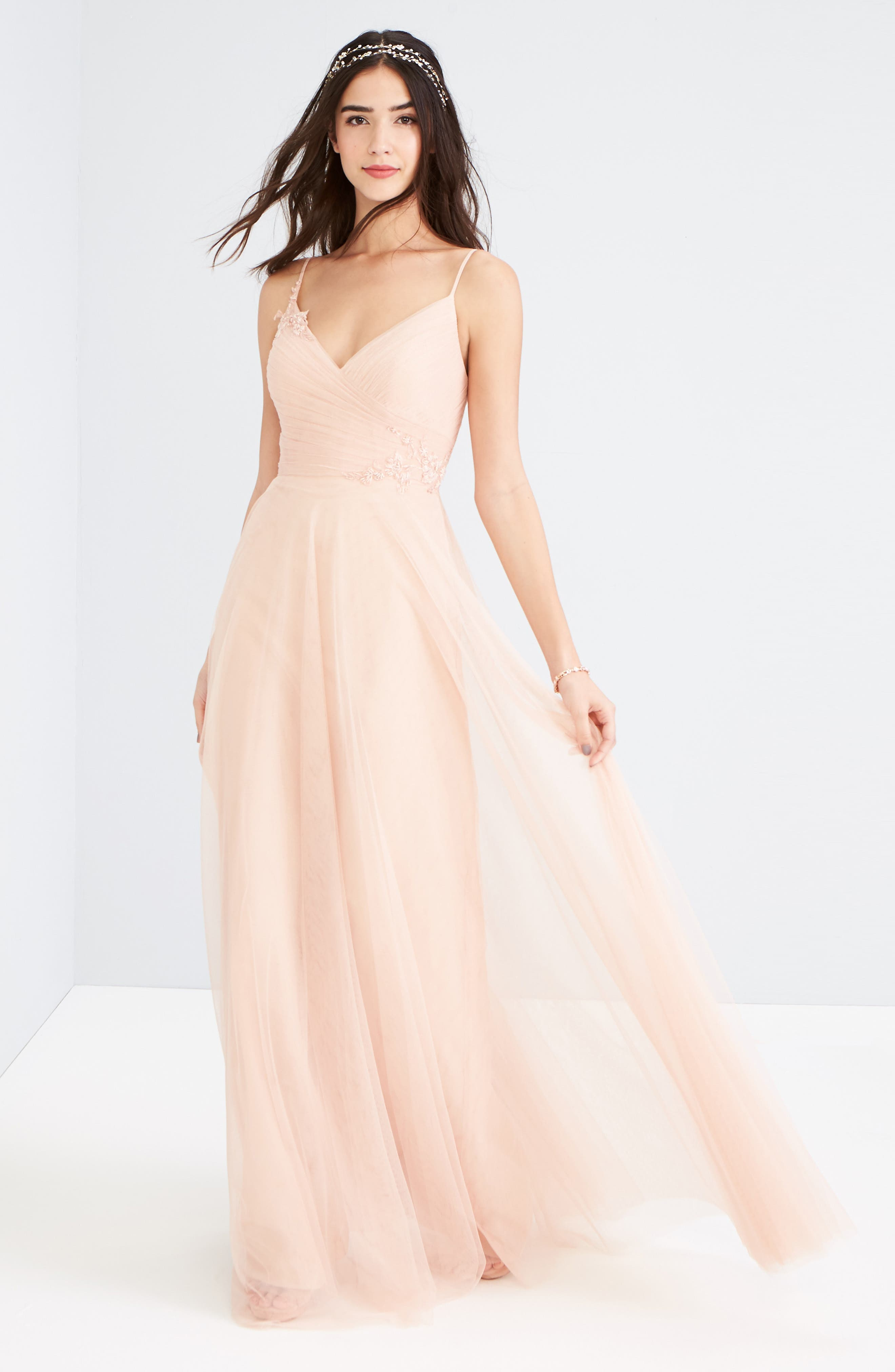 Alternate Image 2  - Jenny Yoo Brielle Tulle Gown
