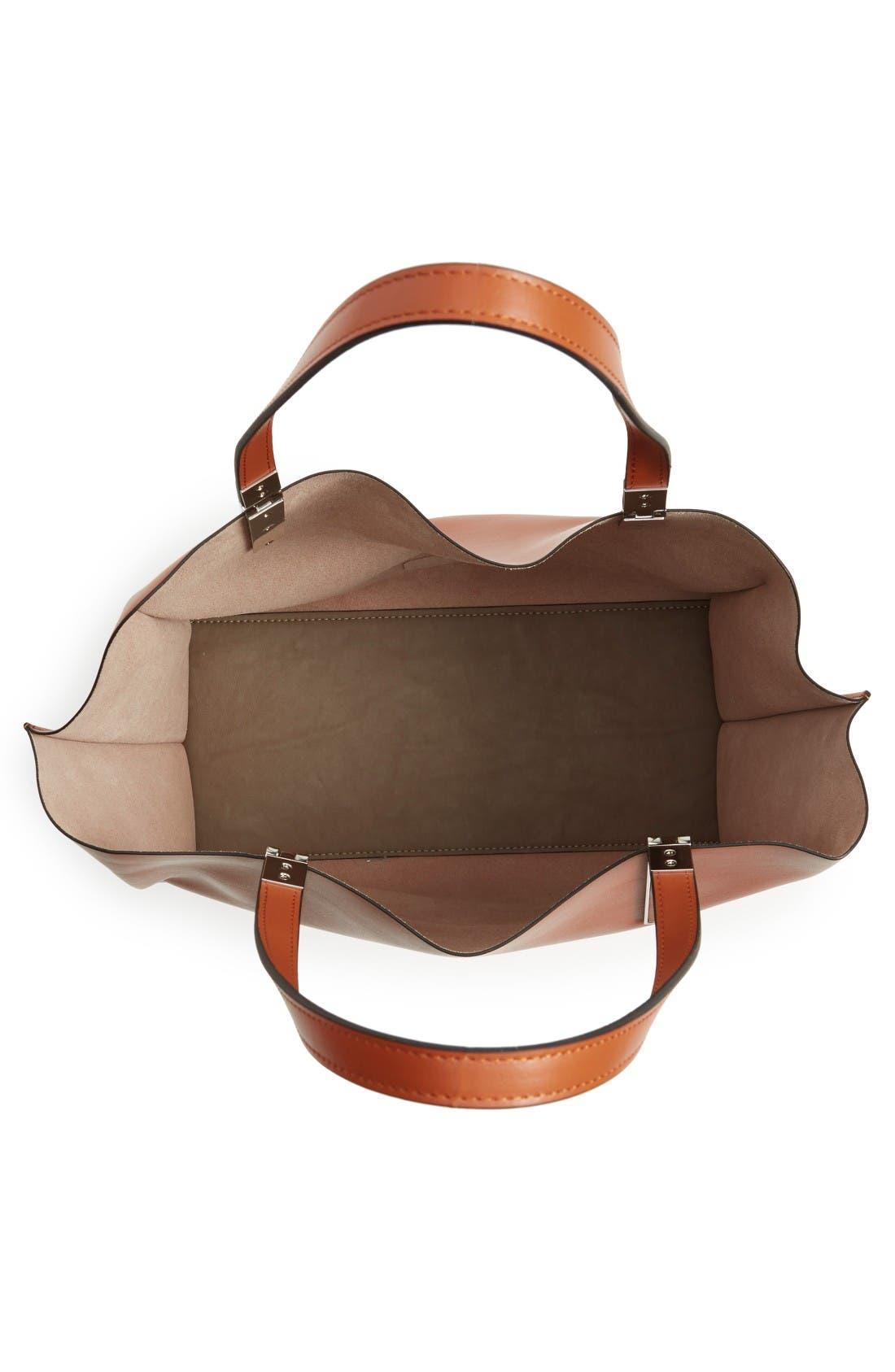 Alternate Image 4  - Lodis 'Blair Collection - Anita' Leather Tote