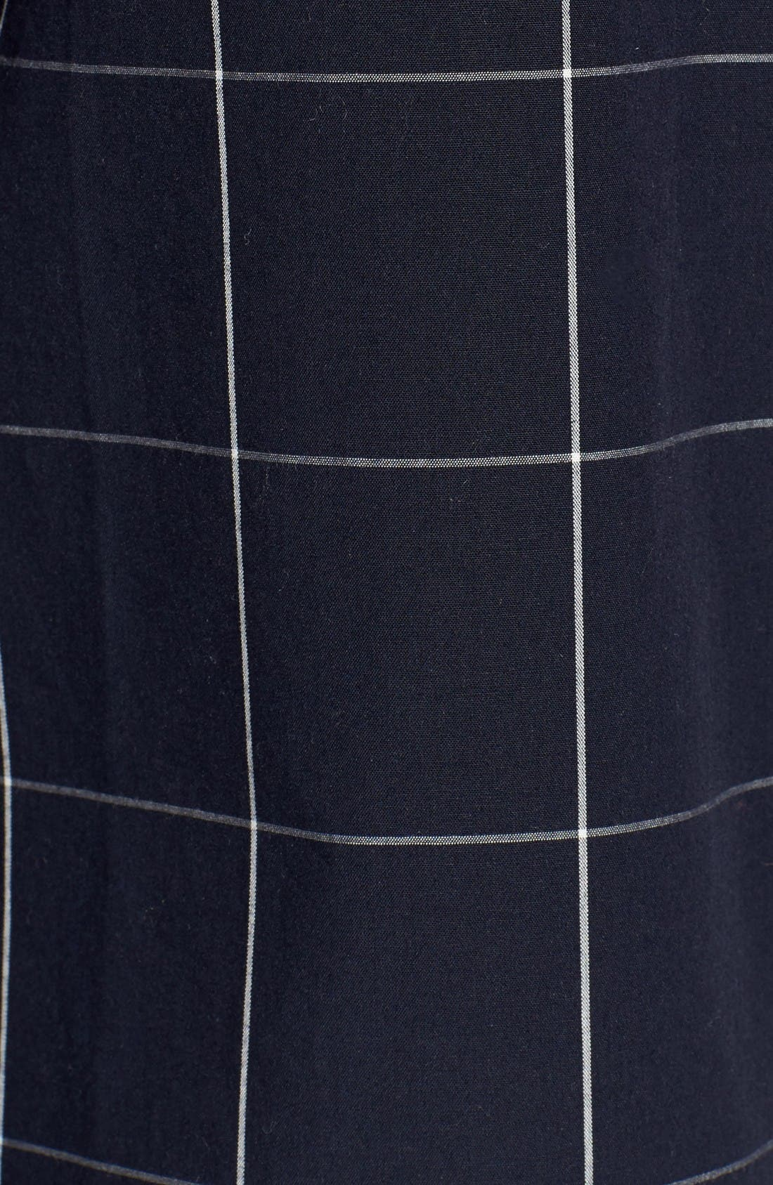 Alternate Image 5  - Madewell Windowpane Bell Sleeve Shirt