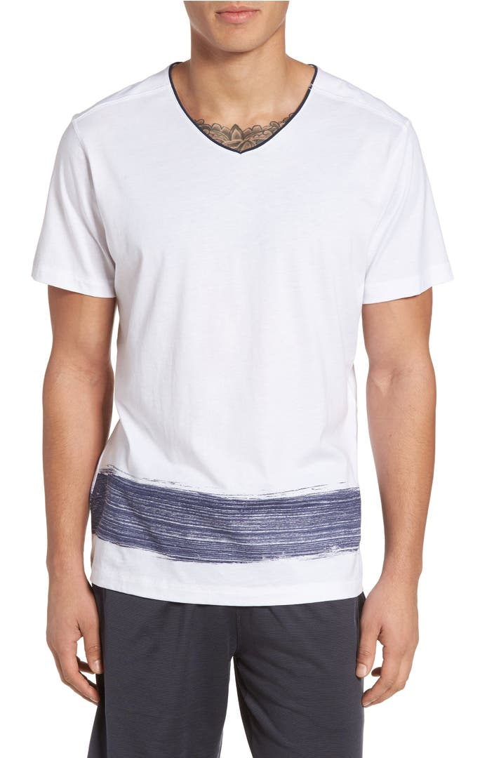 Daniel buchler peruvian pima cotton v neck t shirt nordstrom for Pima cotton tee shirts
