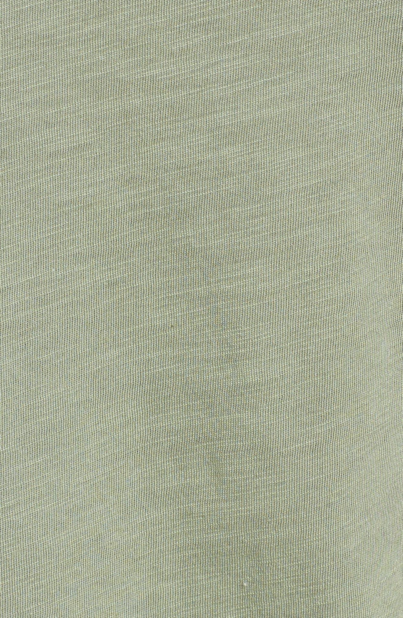 Alternate Image 5  - Caslon® Lace Shoulder Tee (Regular & Petite)