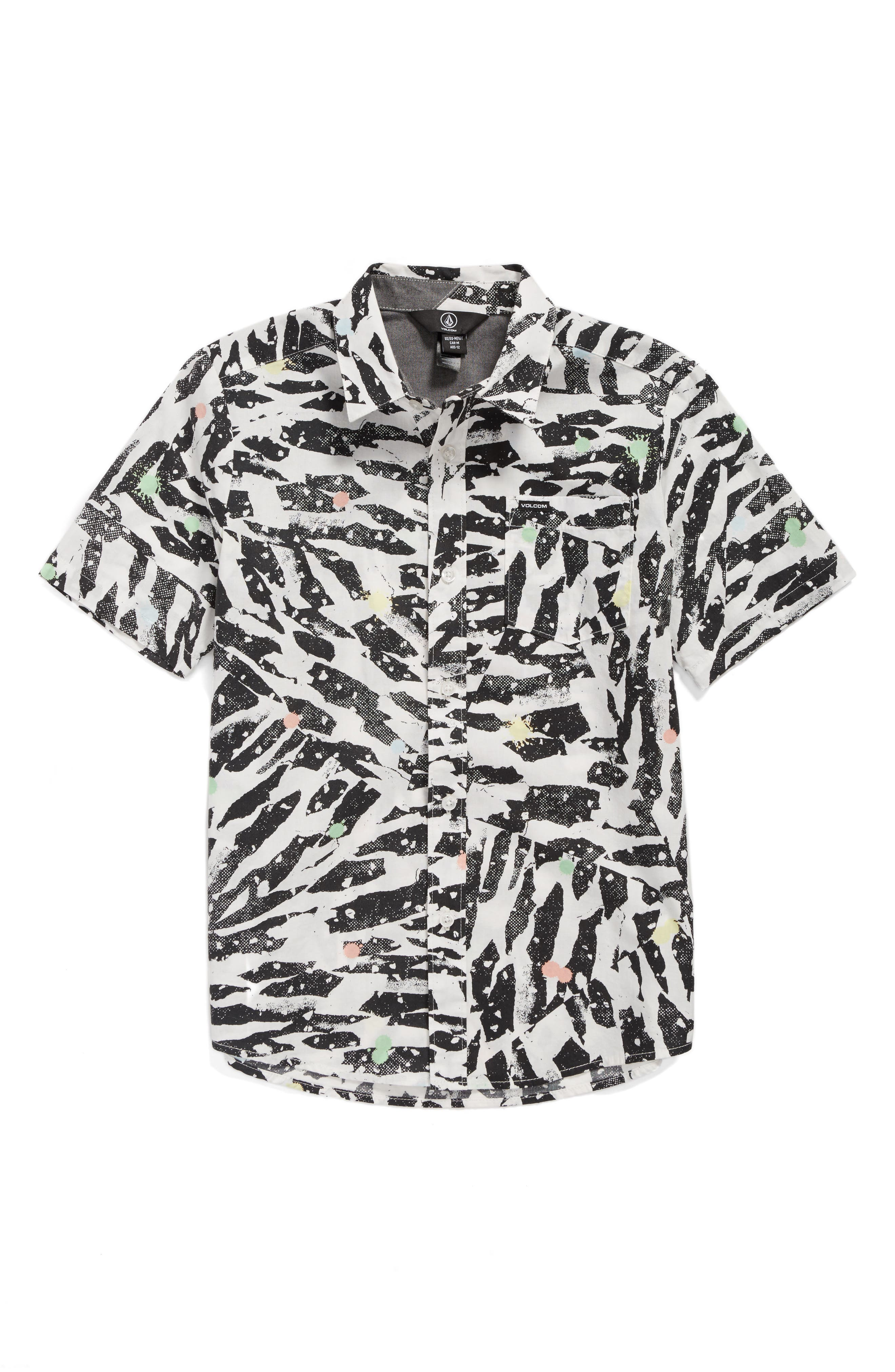 Volcom Chopped Riff Woven Shirt (Toddler Boys & Little Boys)