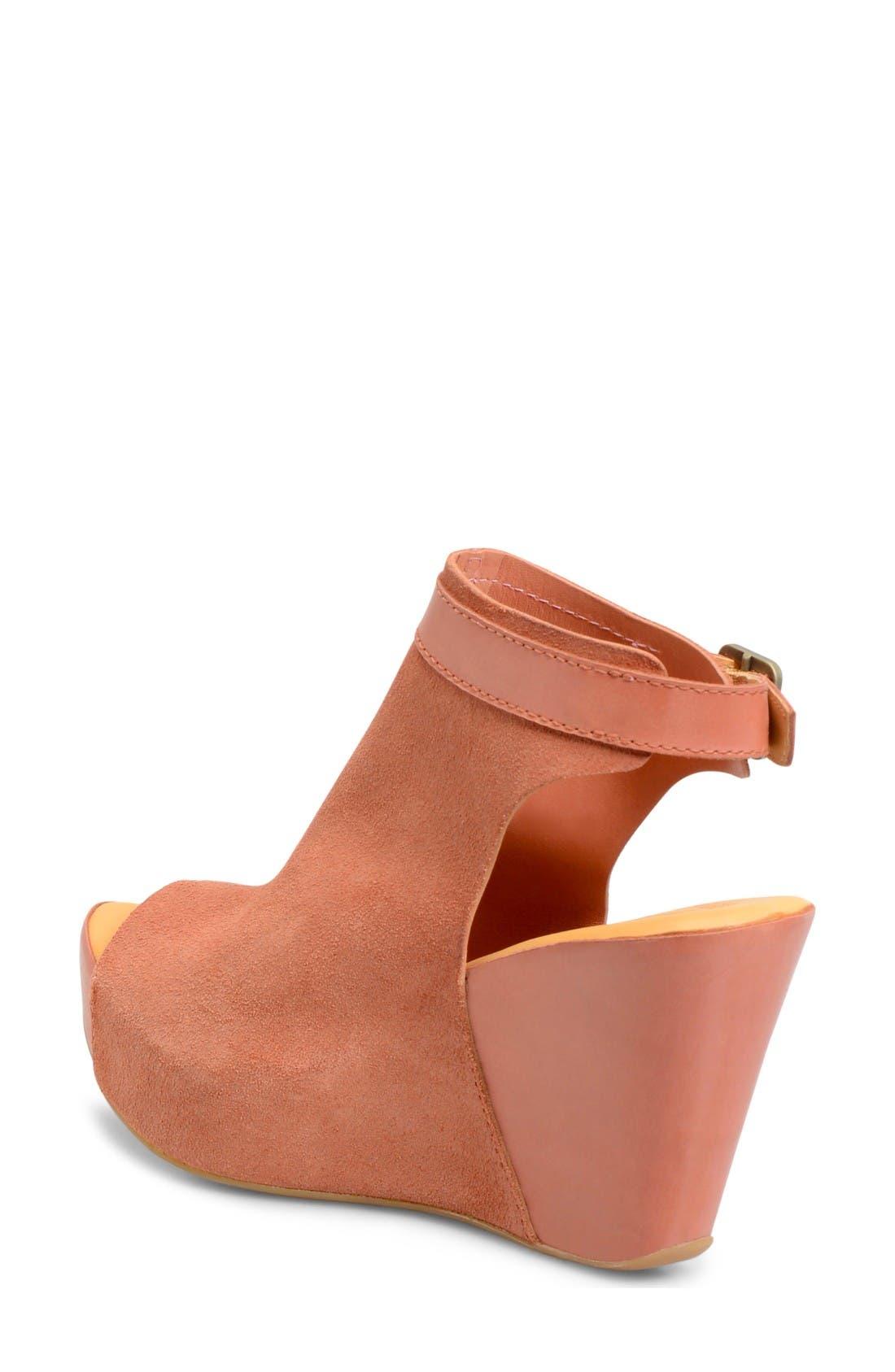 Alternate Image 2  - Kork-Ease® 'Berit' Wedge Sandal (Women)