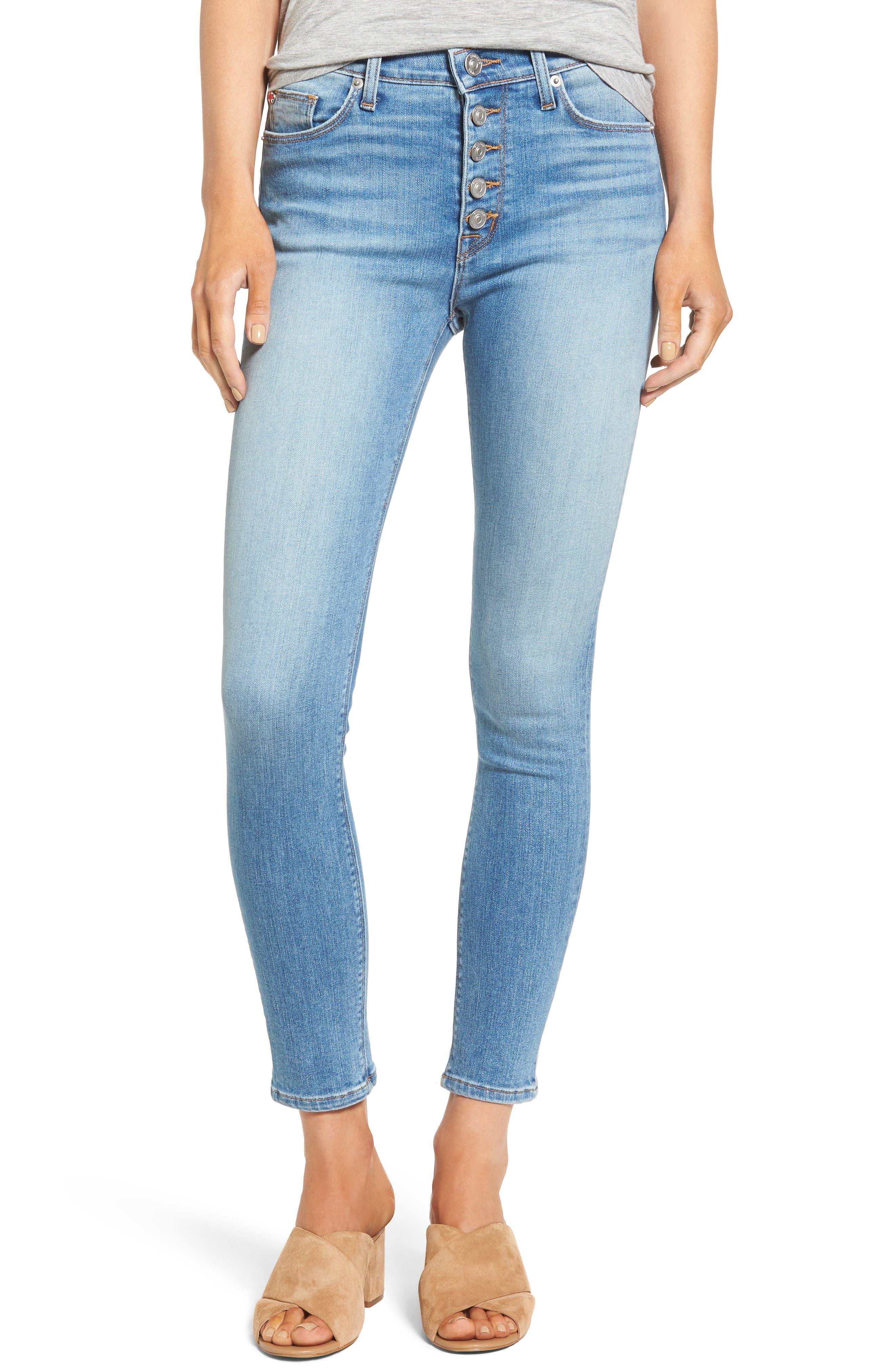 Hudson Ciara High Waist Ankle Skinny Jeans (Reality)