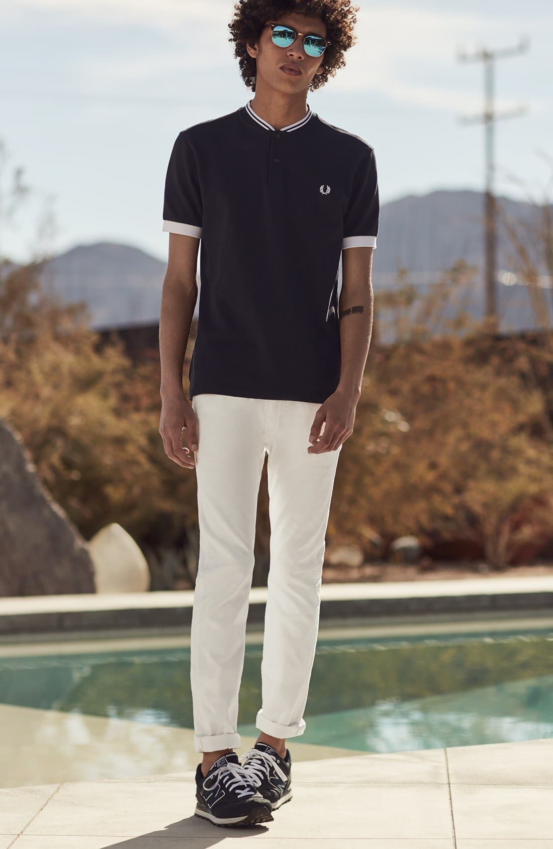 Alternate Image 8  - Levi's® 510® Skinny Fit Jeans (White Bull Denim)