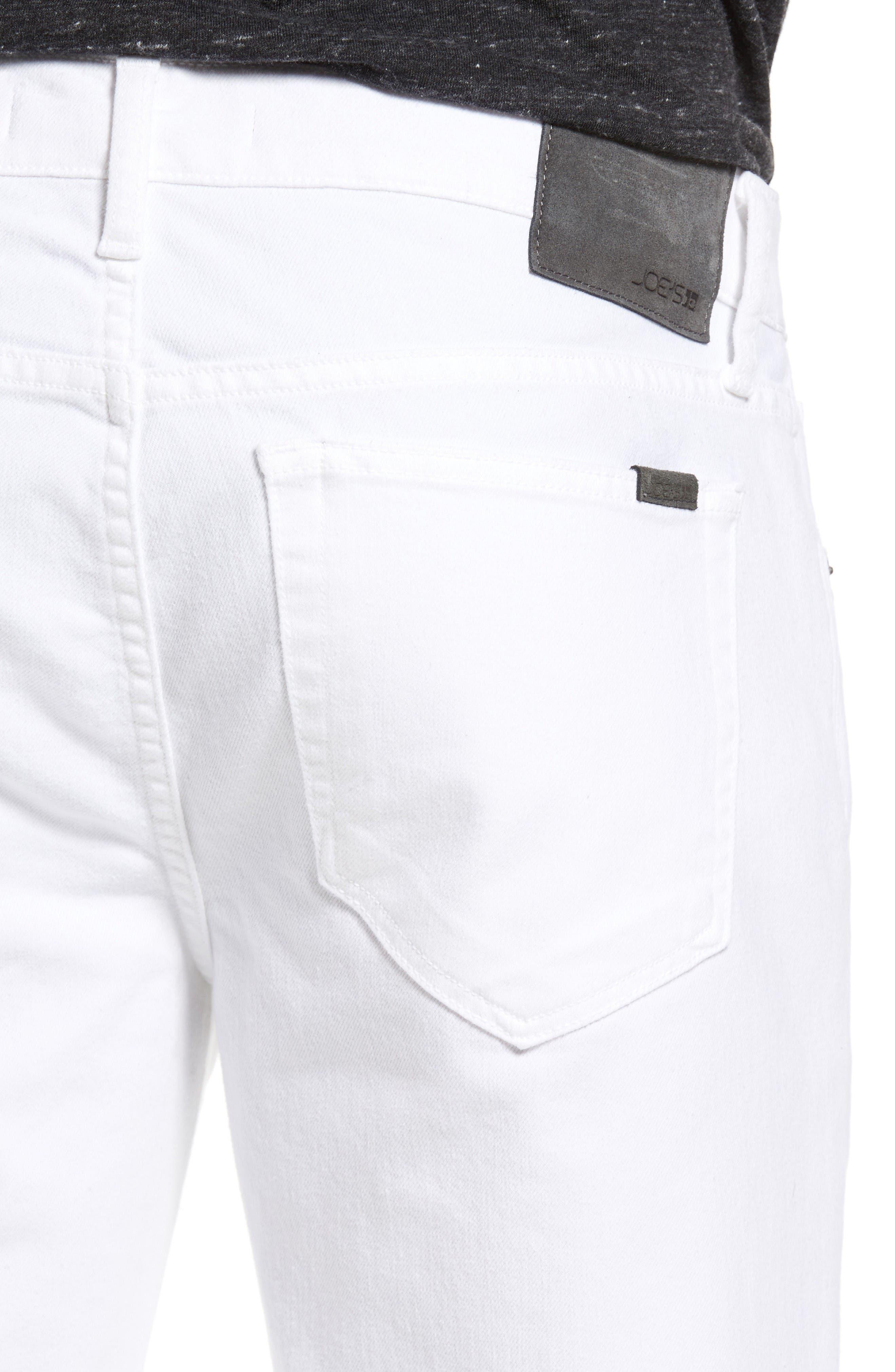 Alternate Image 4  - Joe's Brixton Slim Straight Leg Jeans (Ronan)