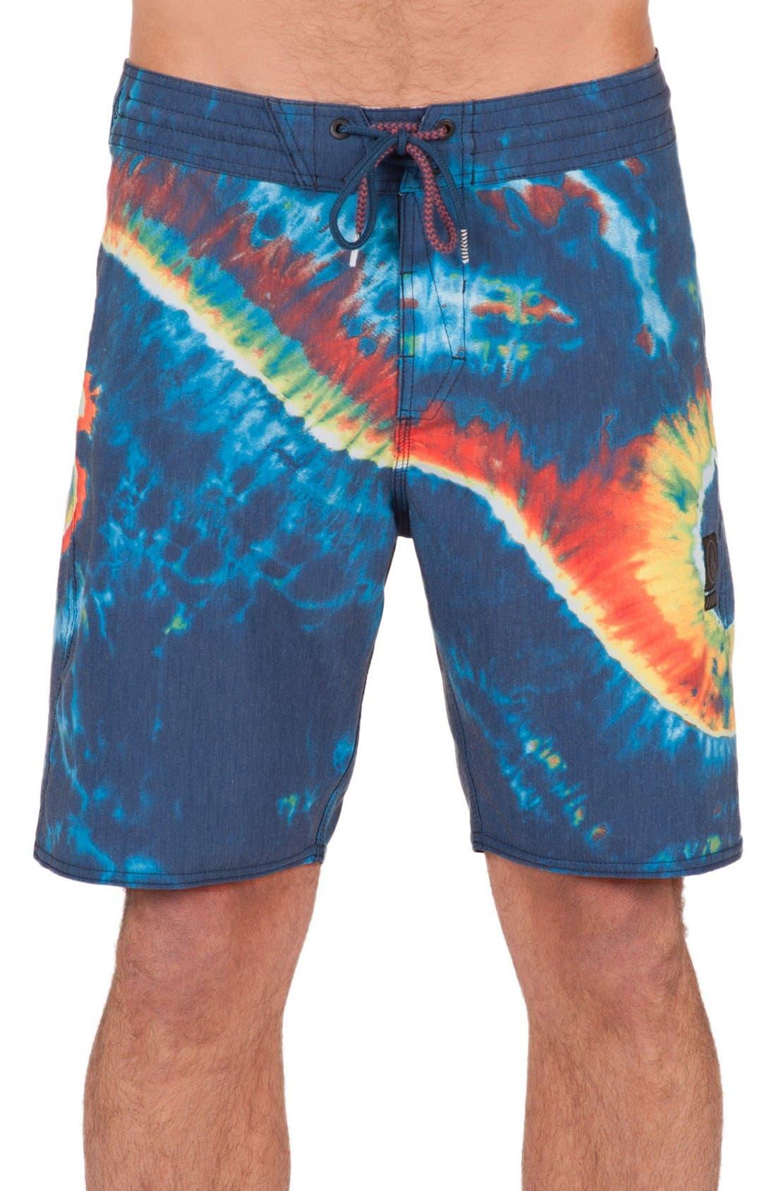 Alternate Image 1 Selected - Volcom Yin Yang Slinger Board Shorts