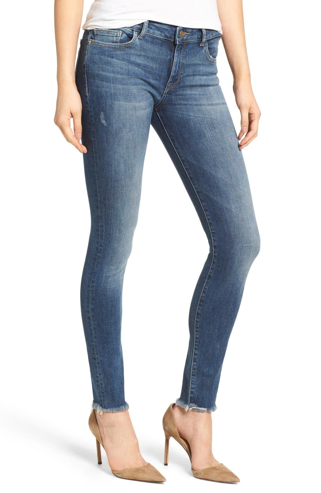 Main Image - DL1961 Florence Instasculpt Skinny Jeans (Wicked)