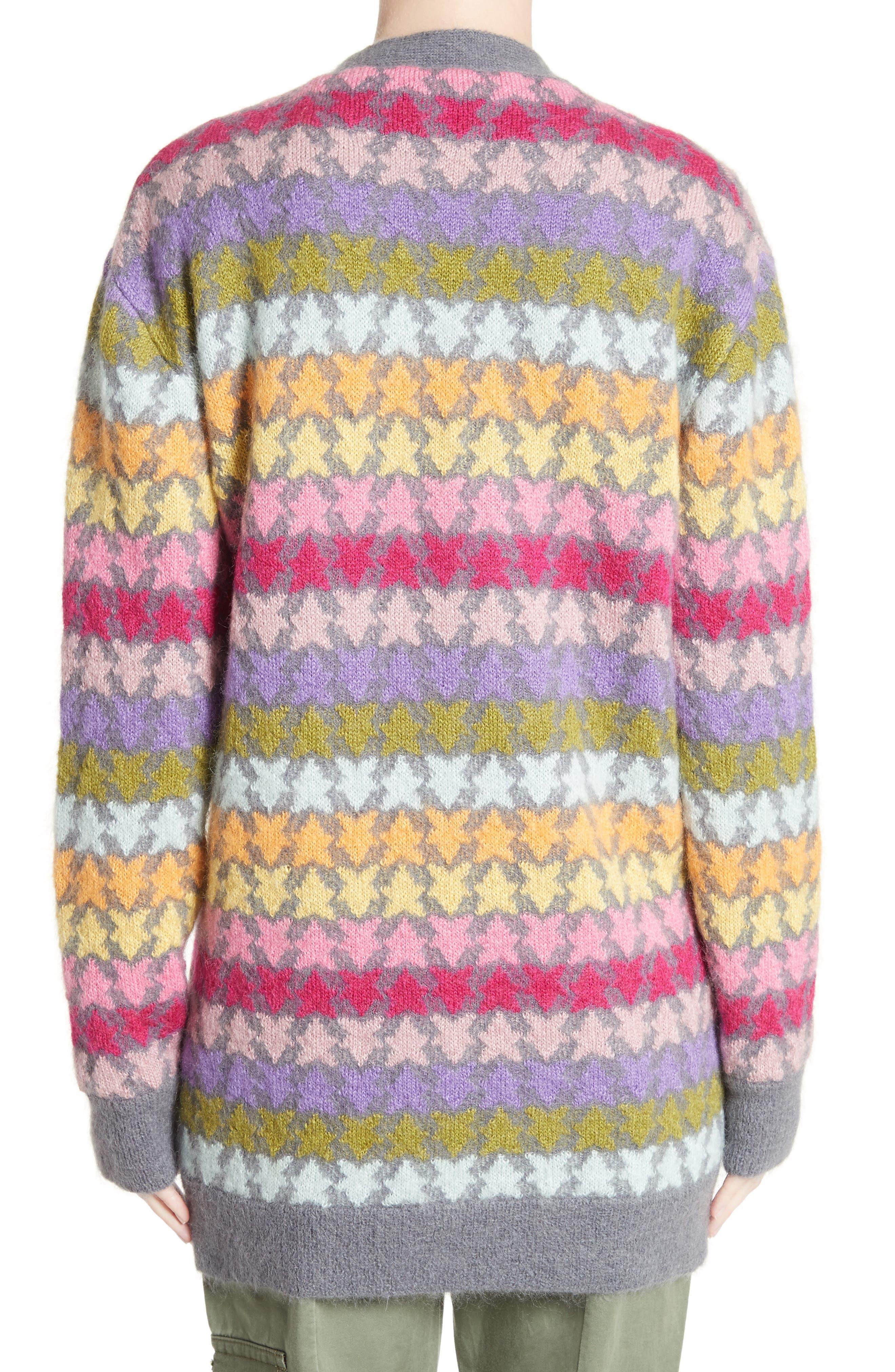 Alternate Image 2  - MARC JACOBS Star Knit Mohair Blend Cardigan