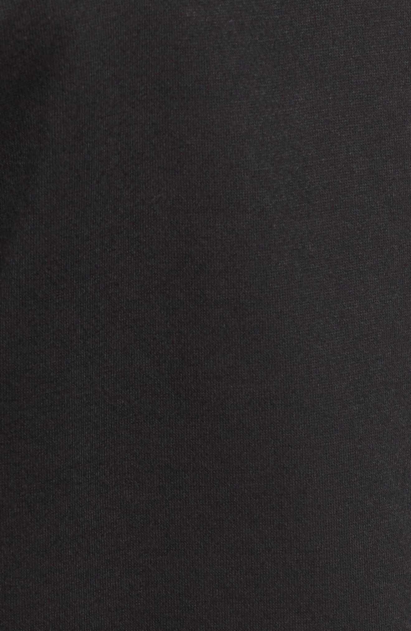 Alternate Image 5  - Bobeau Cold Shoulder Sweatshirt