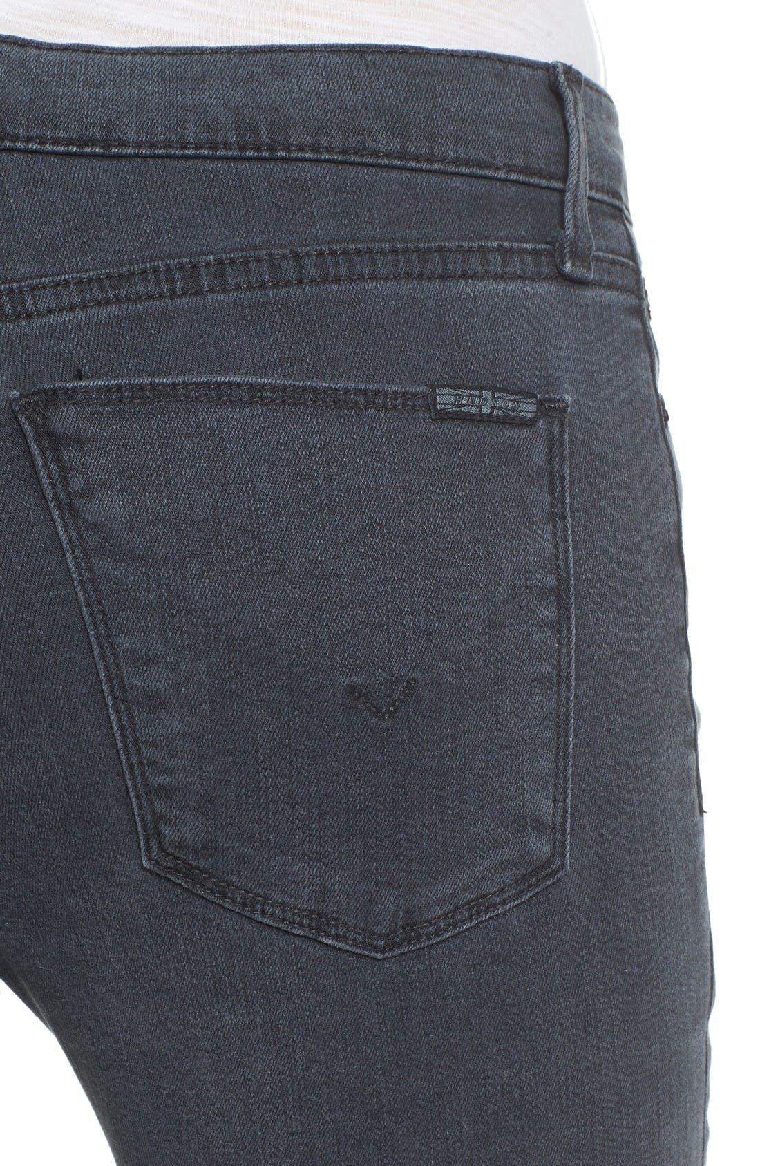 Alternate Image 4  - Hudson Jeans Collette Ankle Skinny Jeans (Penumbra)