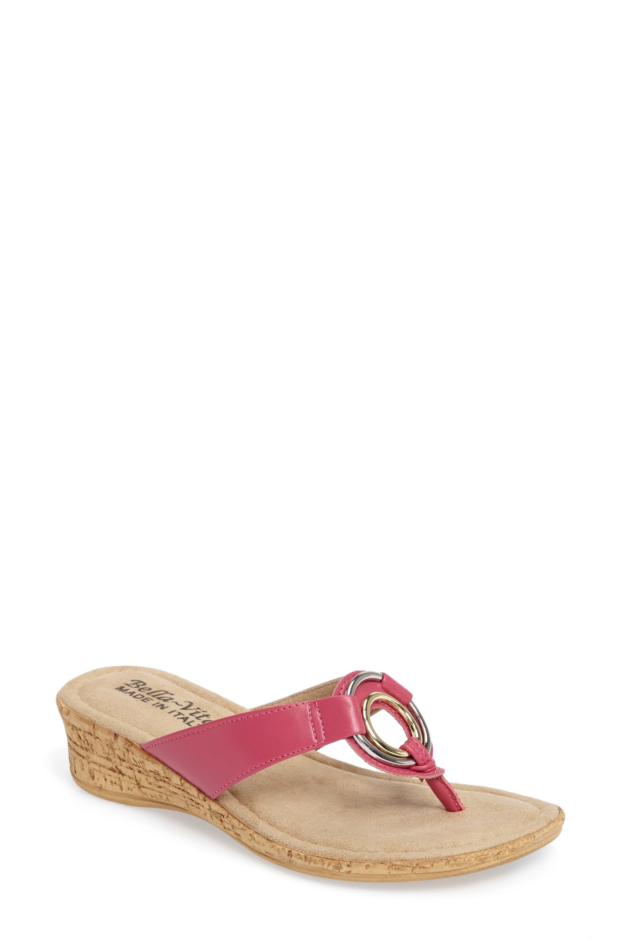 TUSCANY by Easy Street® Fina Wedge Sandal