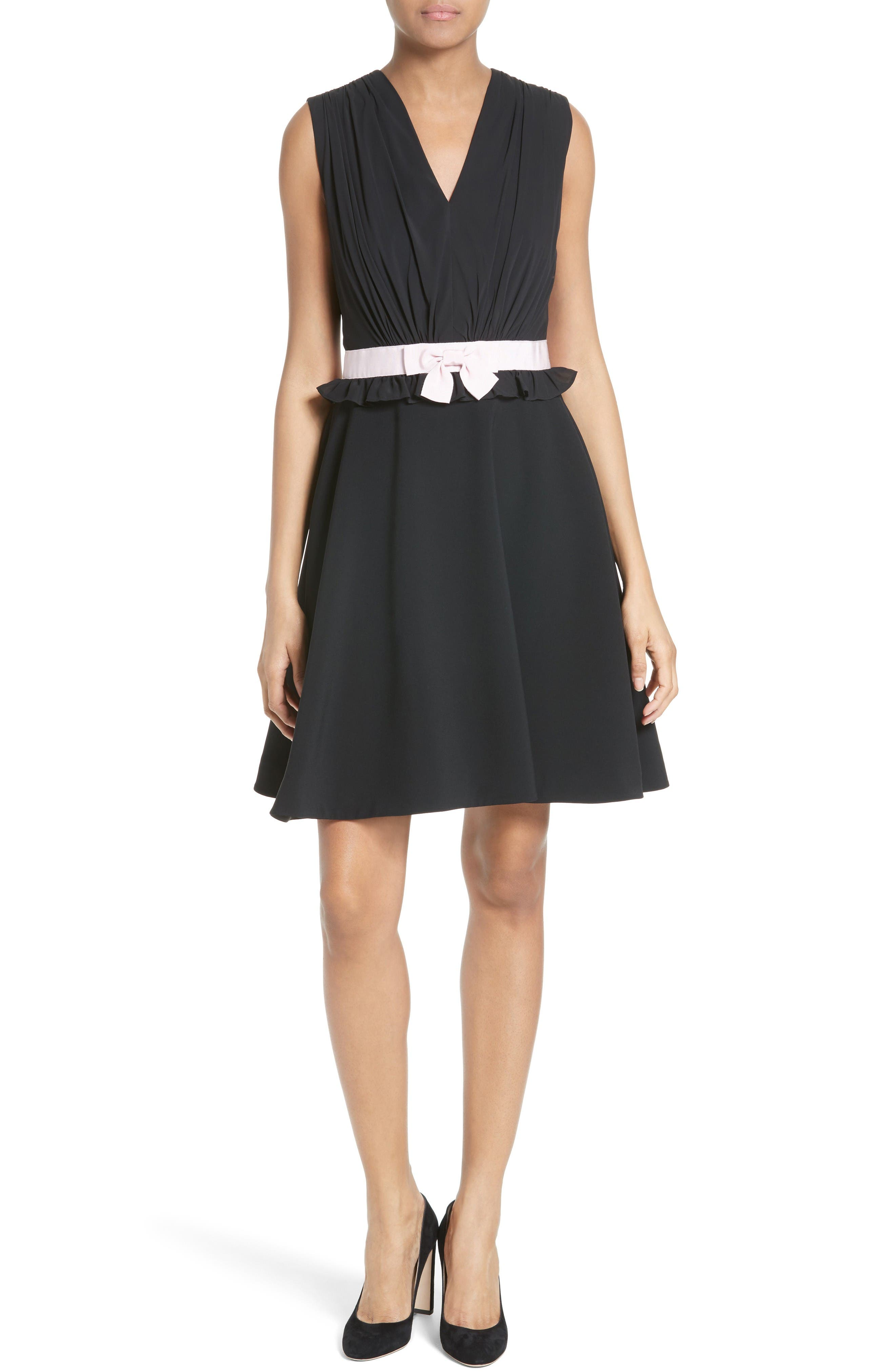 TED BAKER LONDON Vexi Contrast Waist Gathered Fit