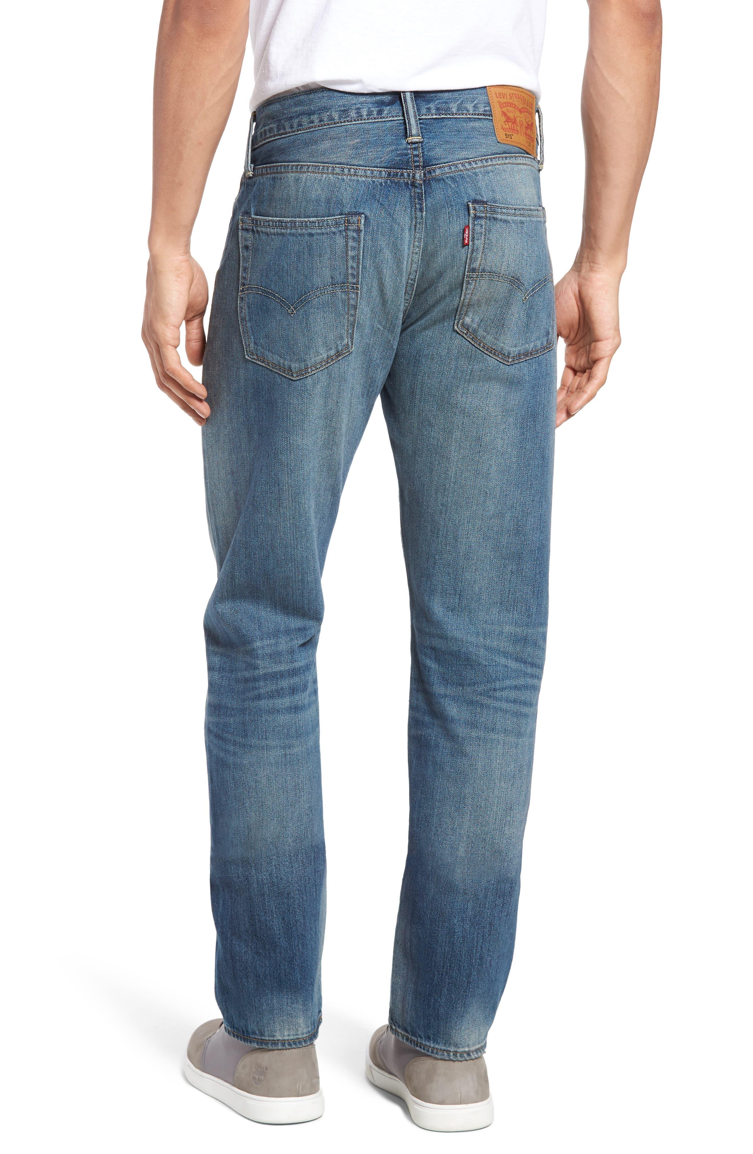 Alternate Image 2  - Levi's® 511™ Slim Fit Jeans (The Cavern)