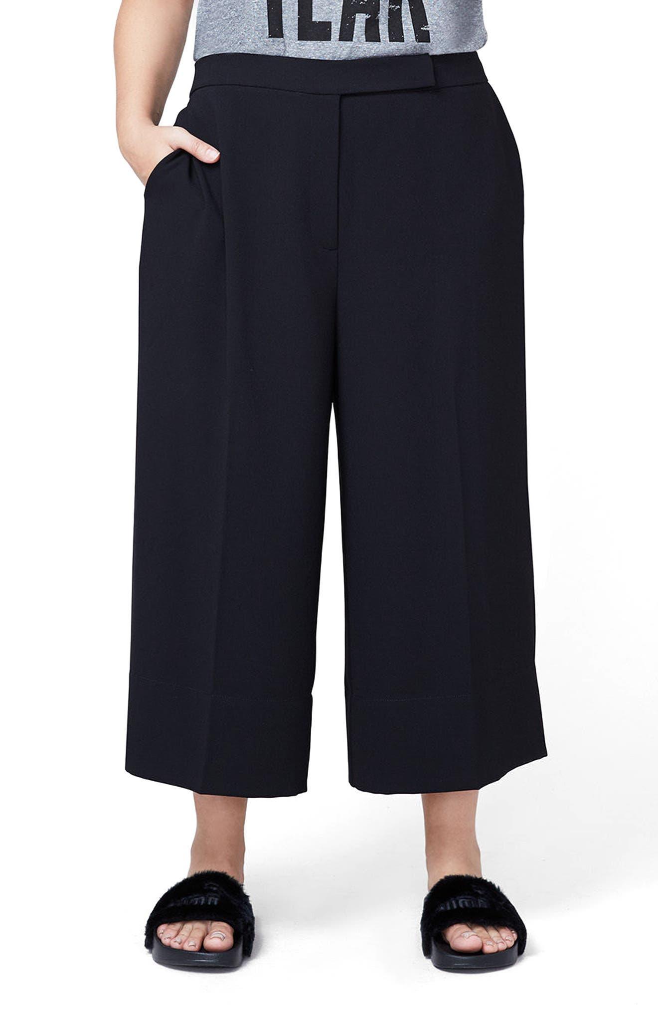 RACHEL Rachel Roy Gaucho Pants (Plus Size)