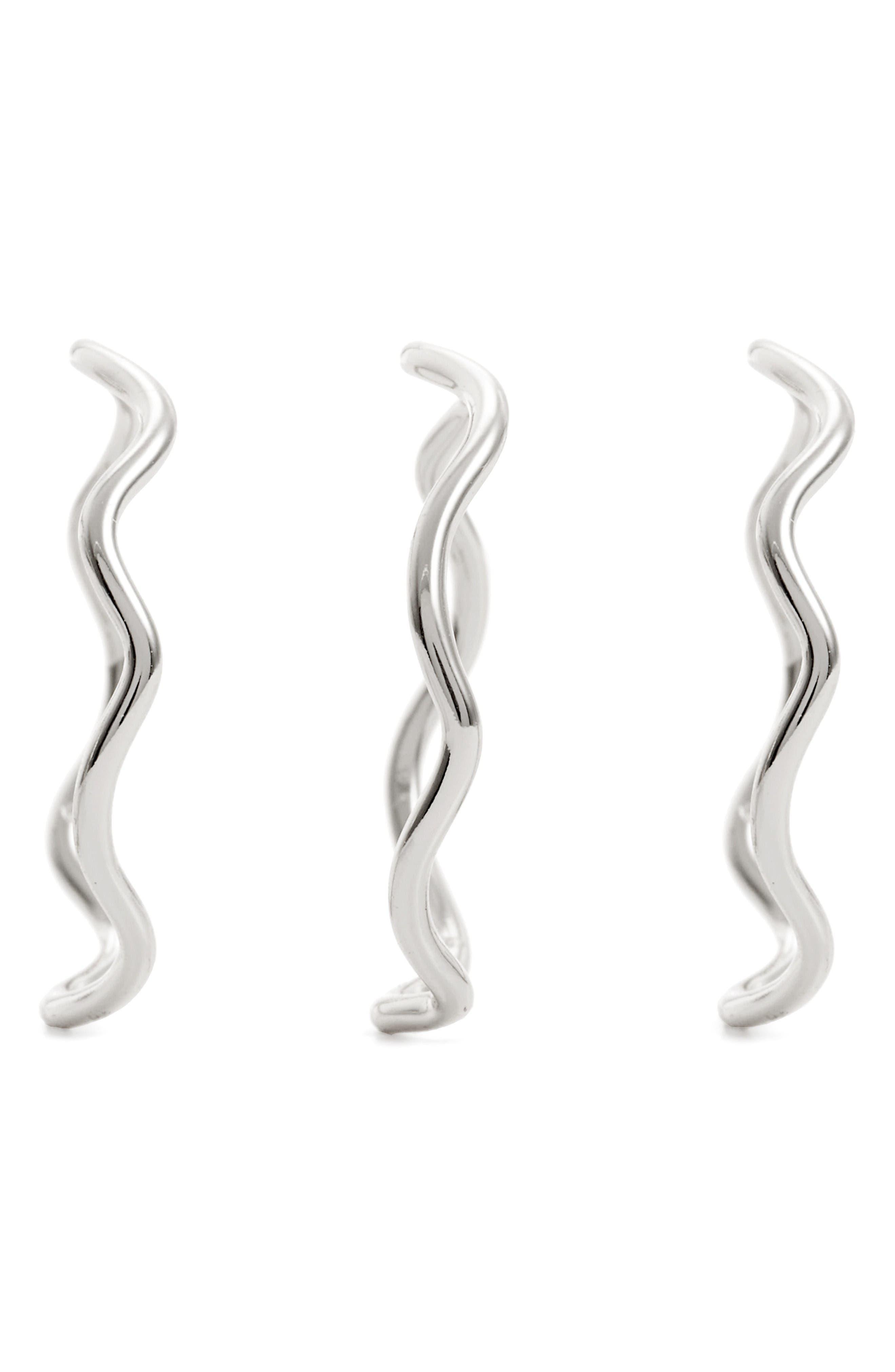 Alternate Image 2  - gorjana Emilia Set of 3 Stack Rings