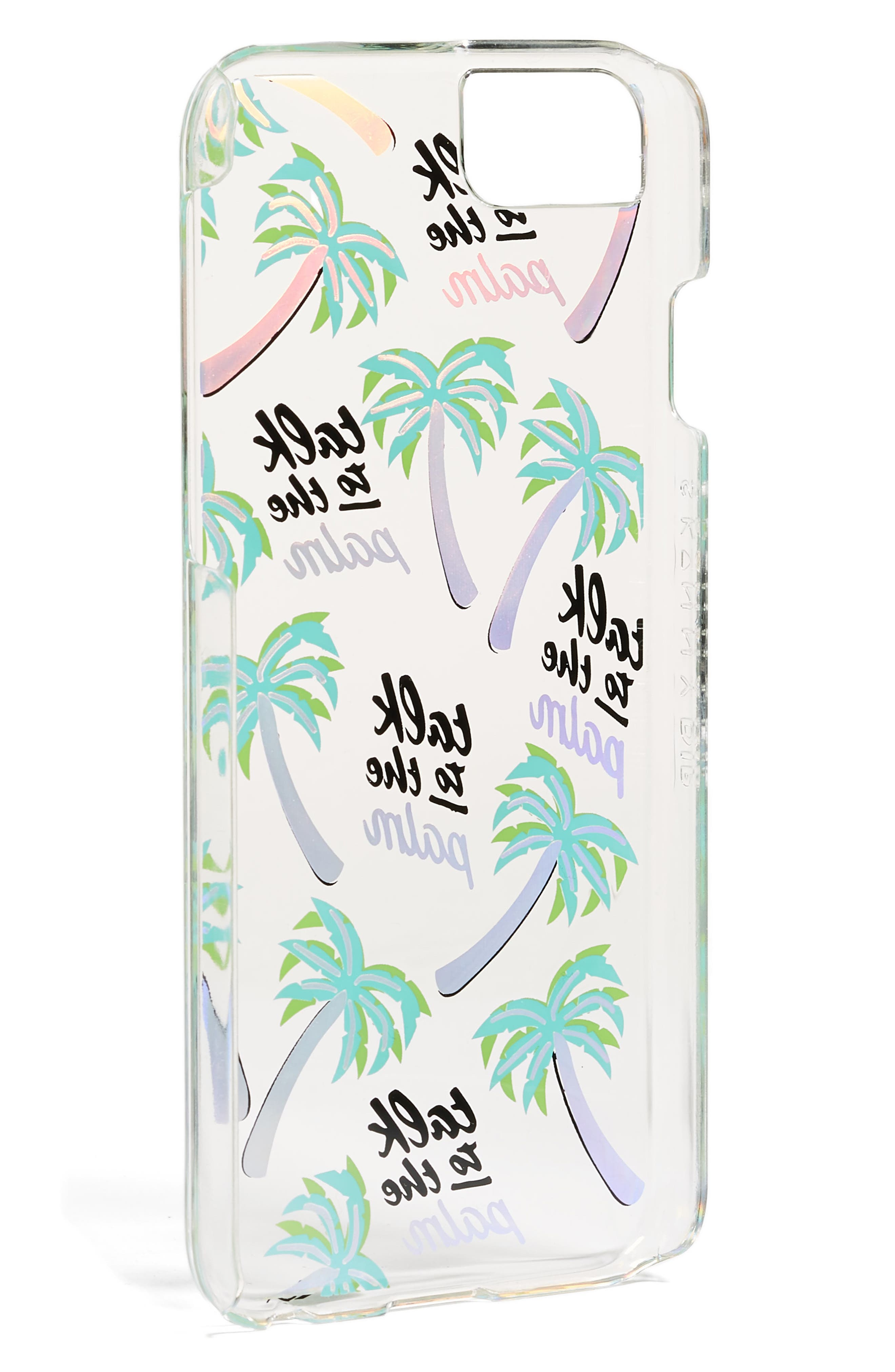Alternate Image 2  - Skinnydip Talk to the Palm iPhone Case (6/7 & 6/7 Plus)