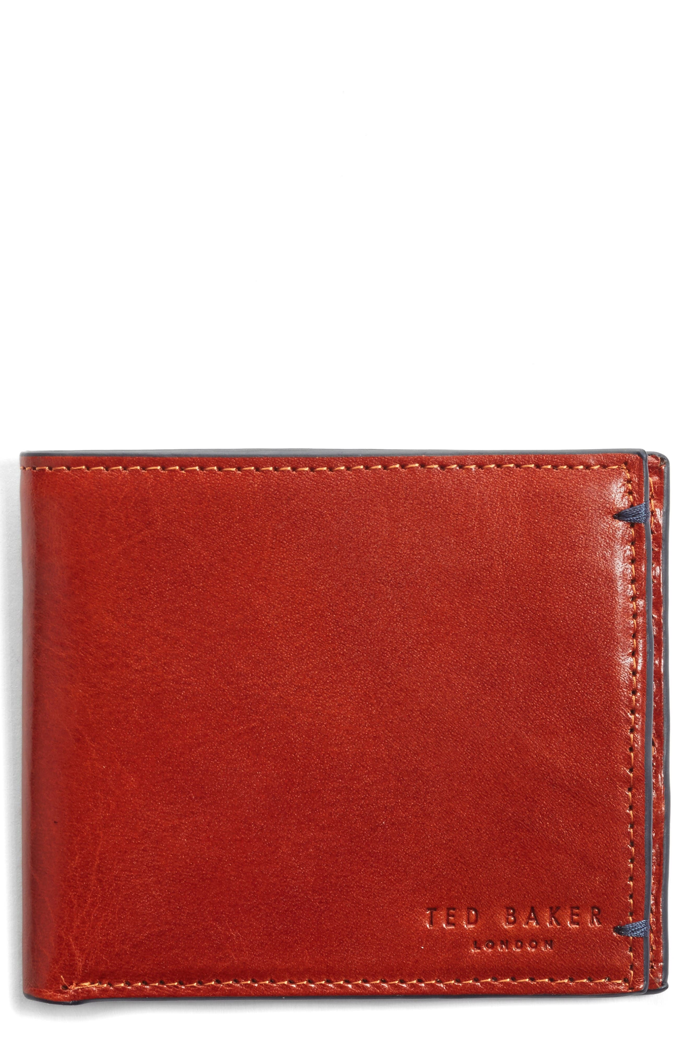 Ted Baker London Aunat Leather Bifold Wallet