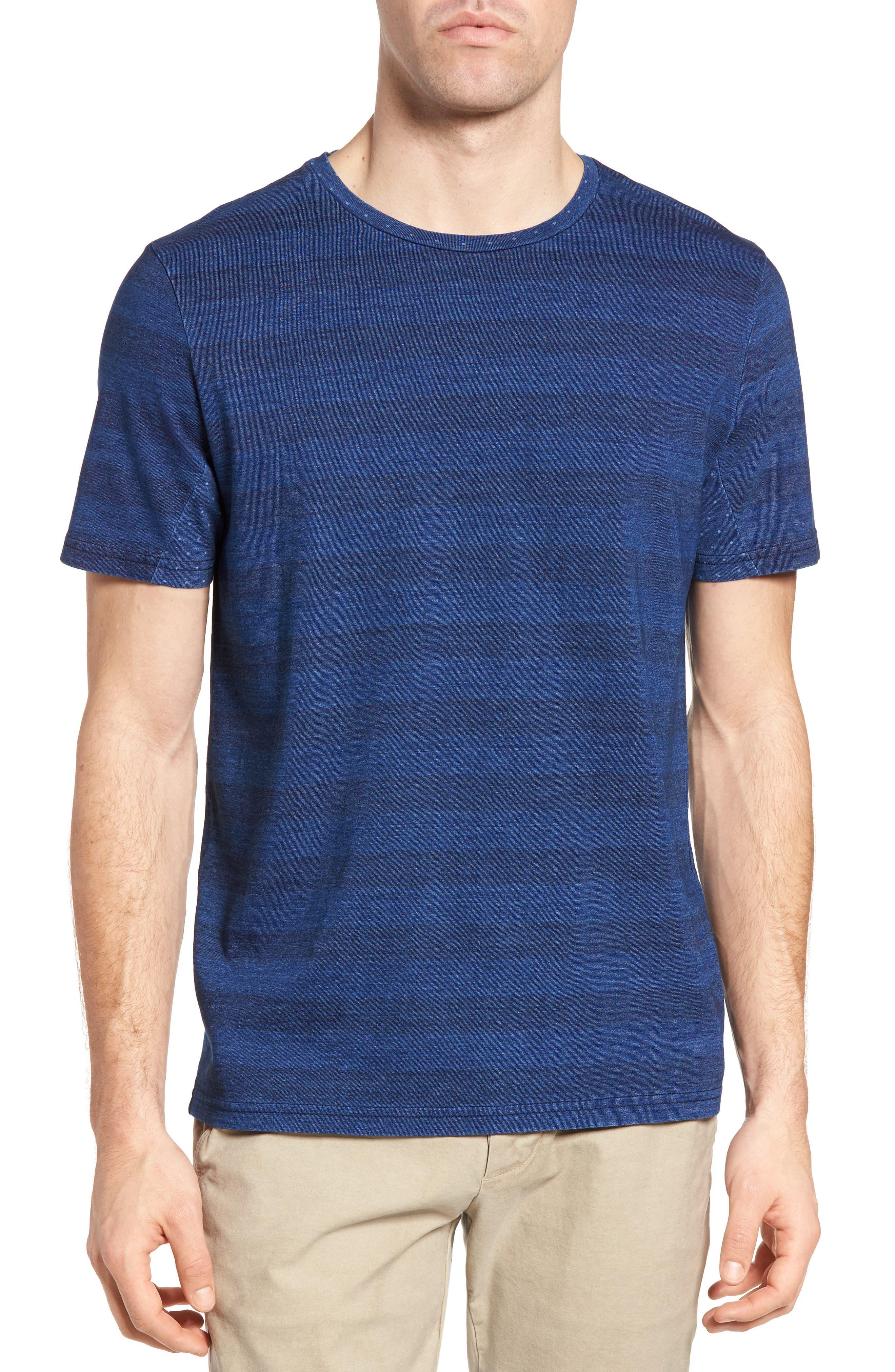 Michael Bastian Stripe Crewneck T-Shirt