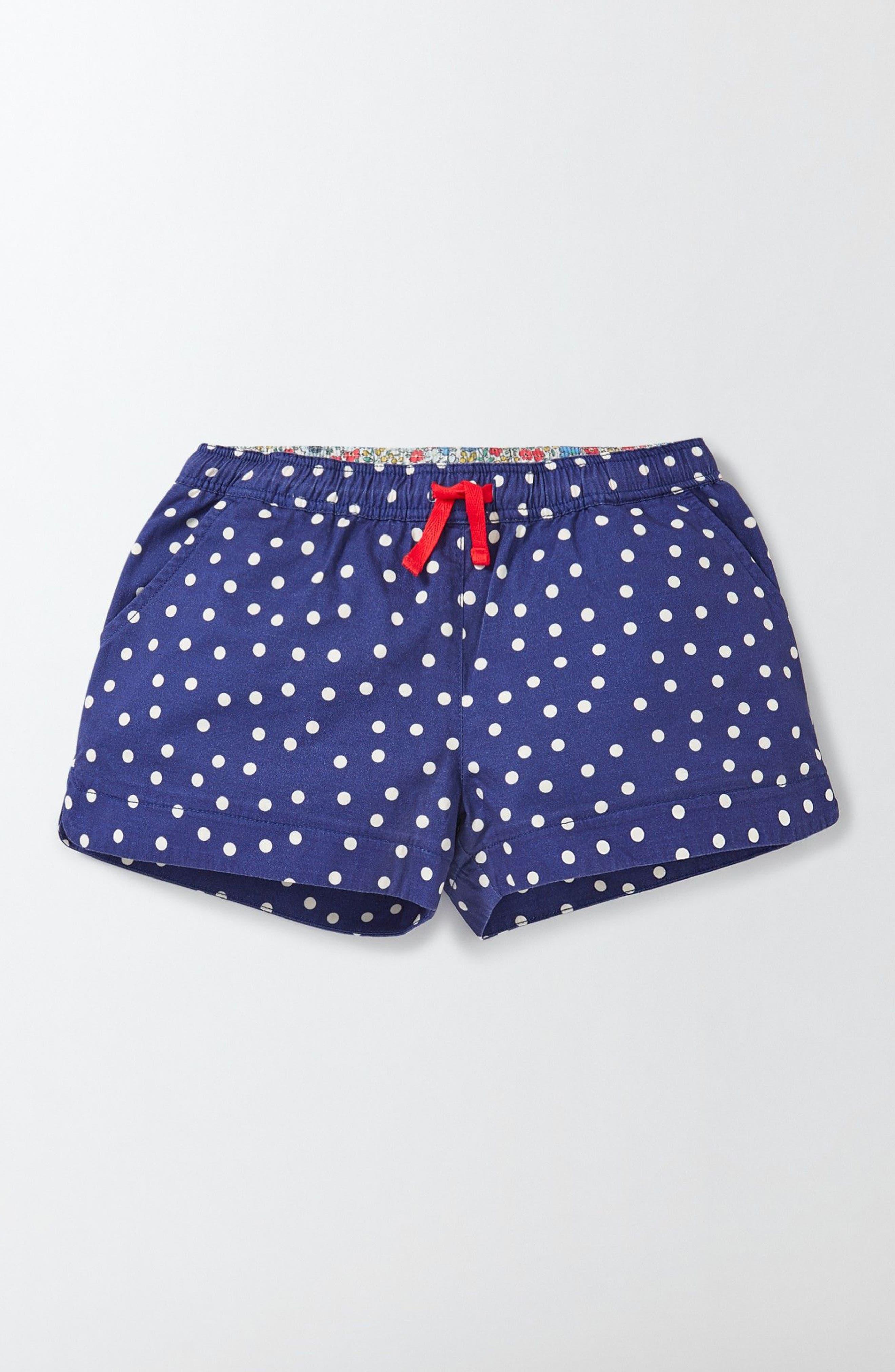 MINI BODEN Heart Pocket Shorts