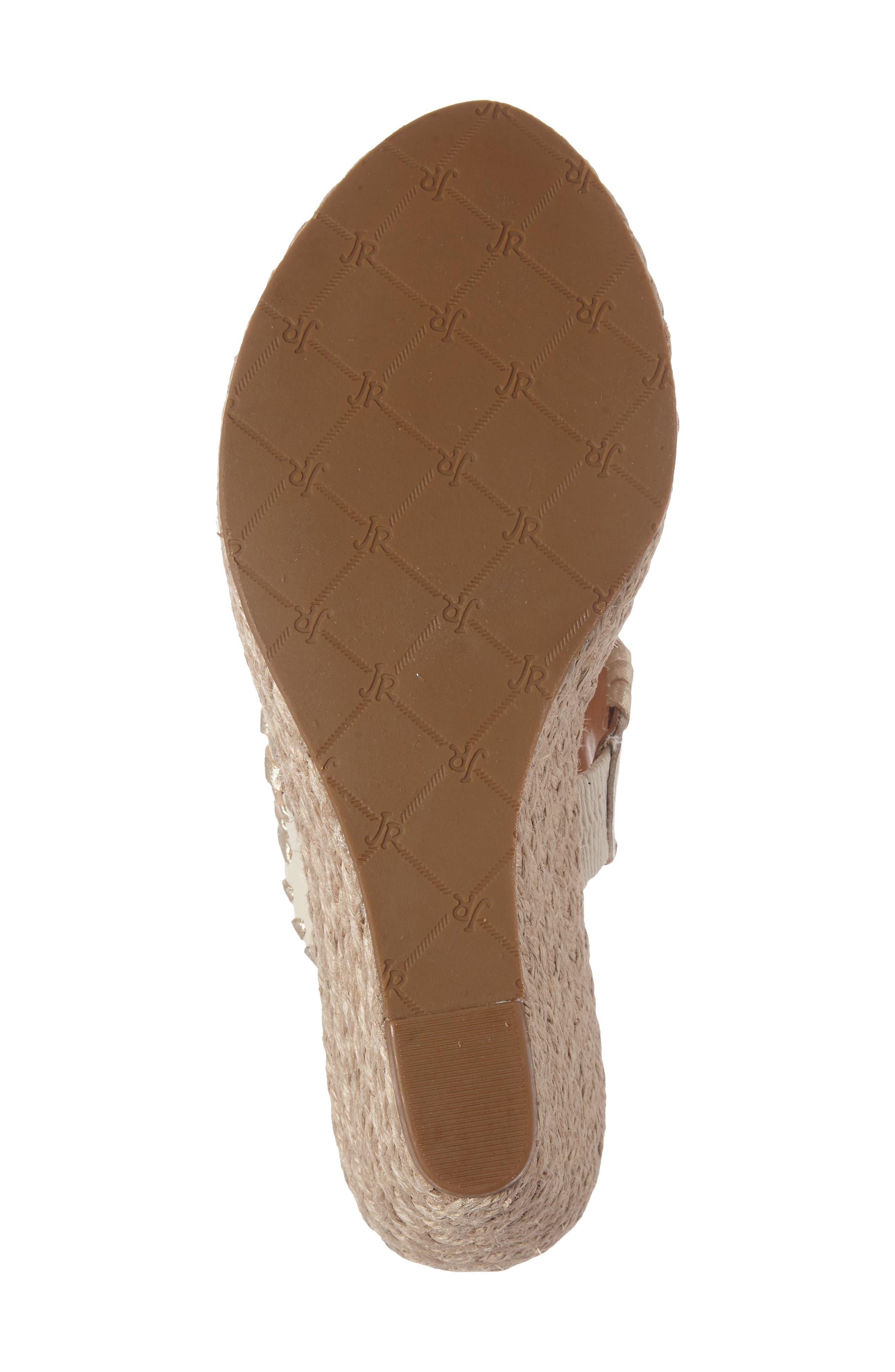 Alternate Image 4  - Jack Rogers 'Shelby' Whipstitched Wedge Sandal (Women)