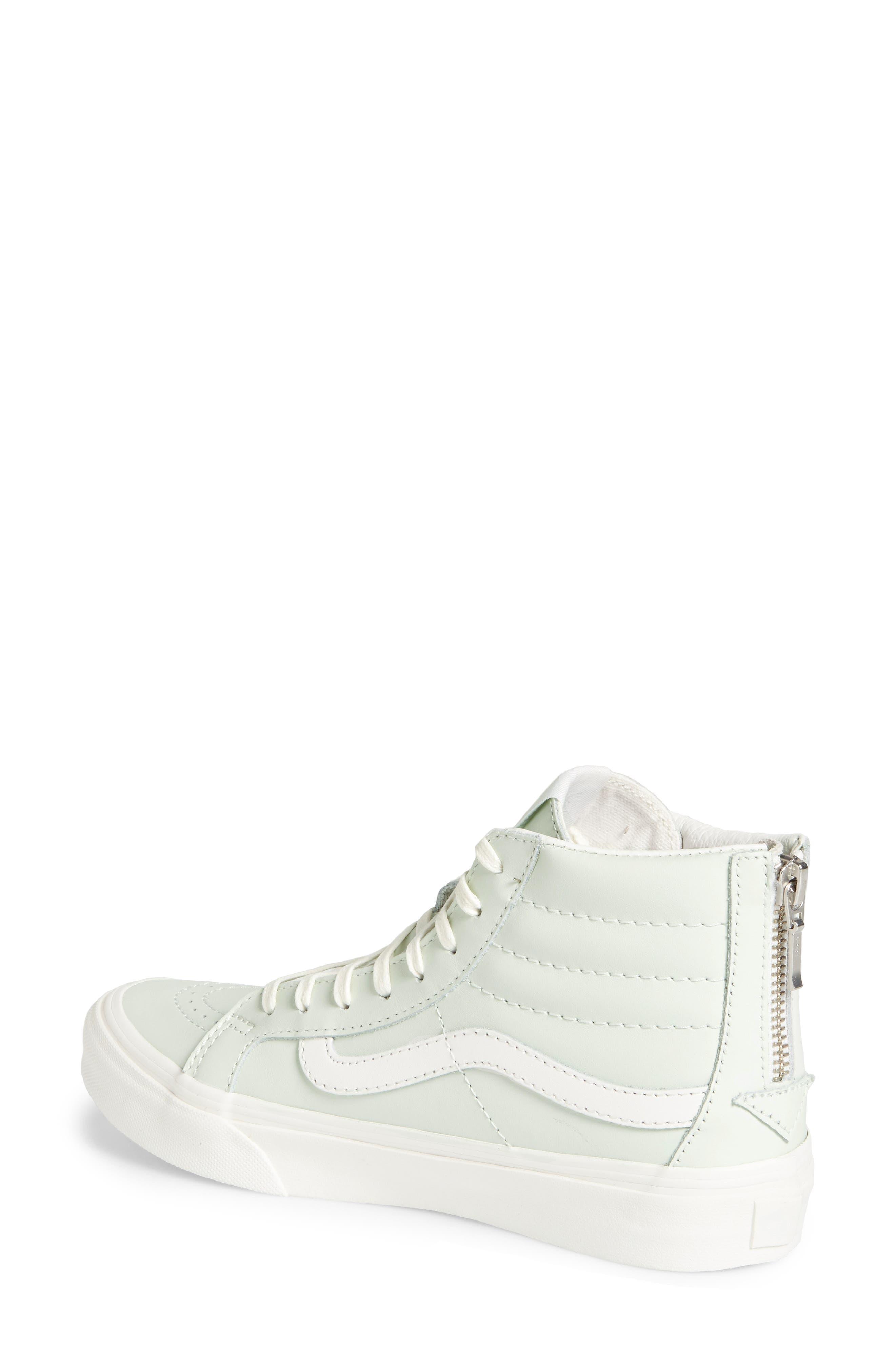 Alternate Image 2  - Vans 'Sk8-Hi' Slim Zip Sneaker (Women)