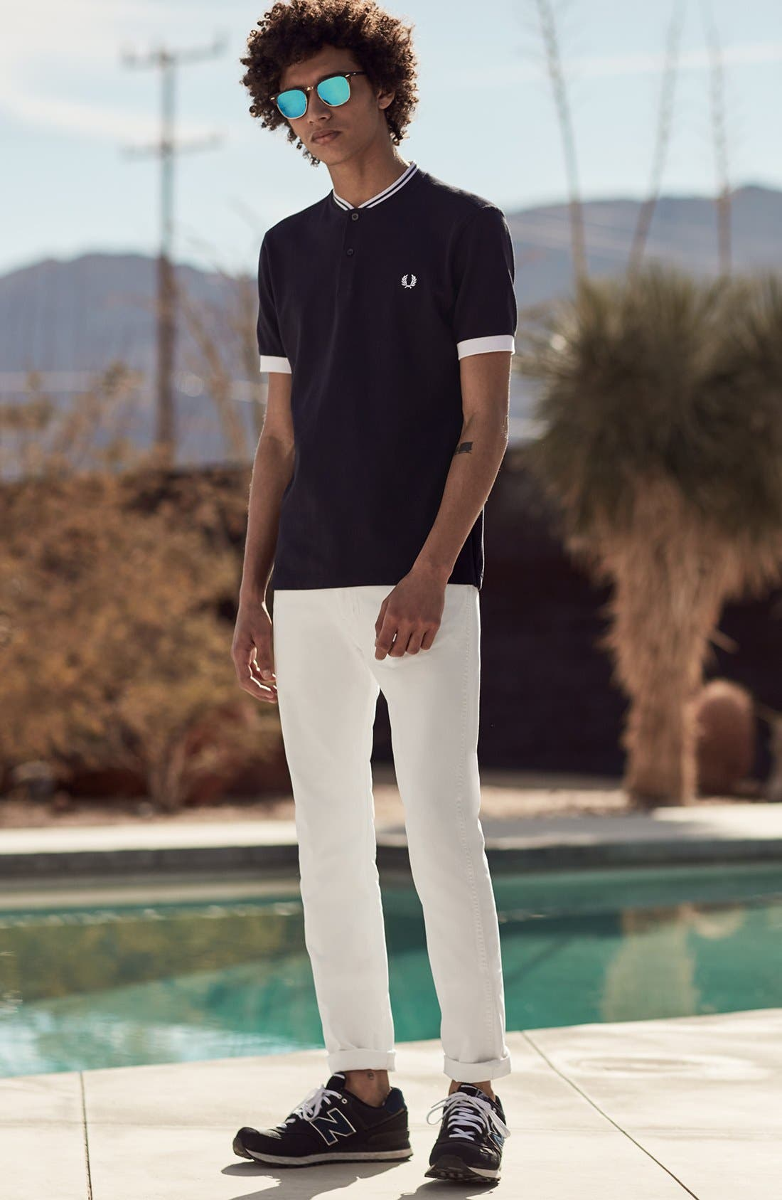 Alternate Image 9  - Levi's® 510® Skinny Fit Jeans (White Bull Denim)