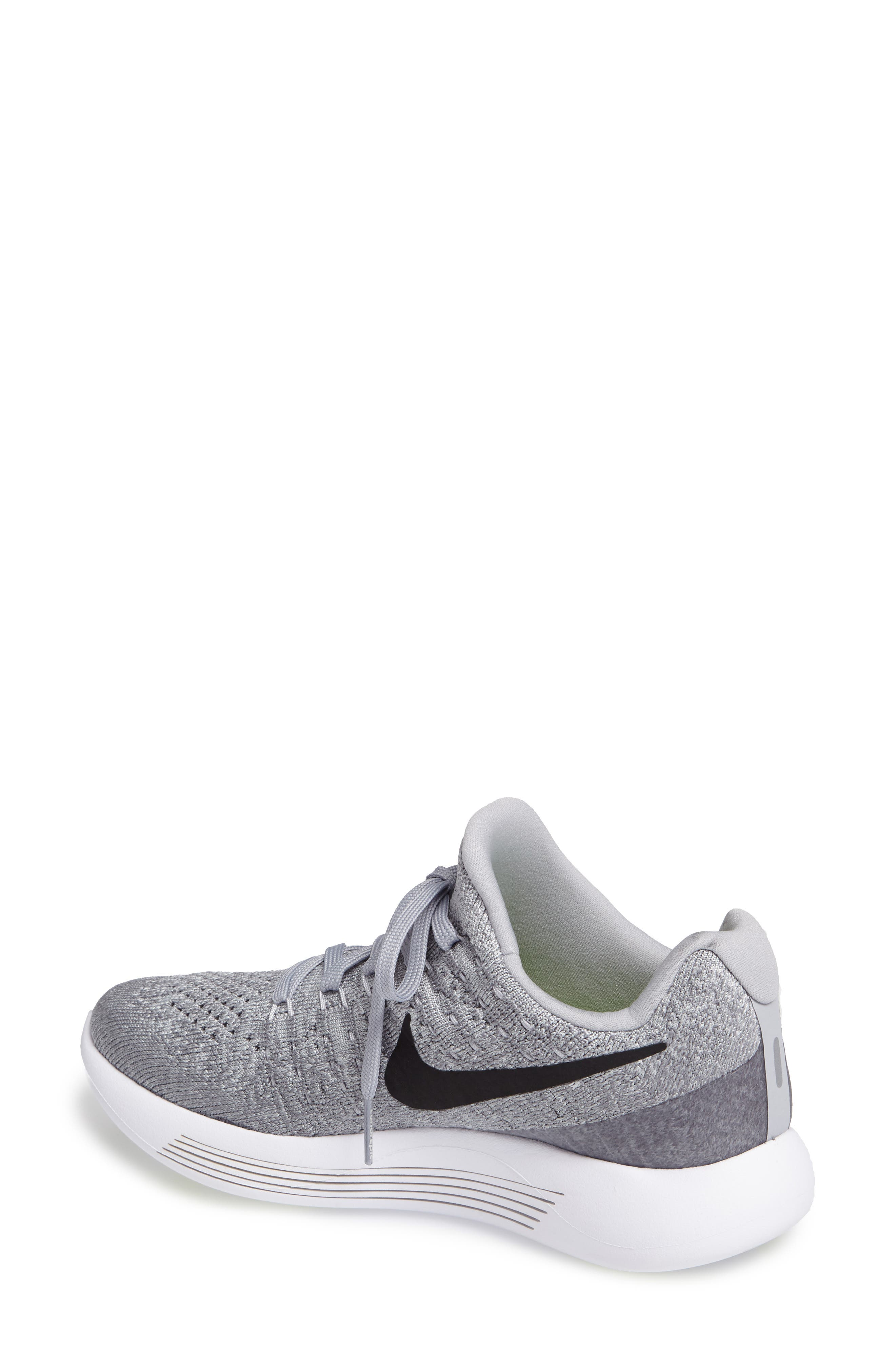 Alternate Image 2  - Nike LunarEpic Low Flyknit 2 Running Shoe (Women)