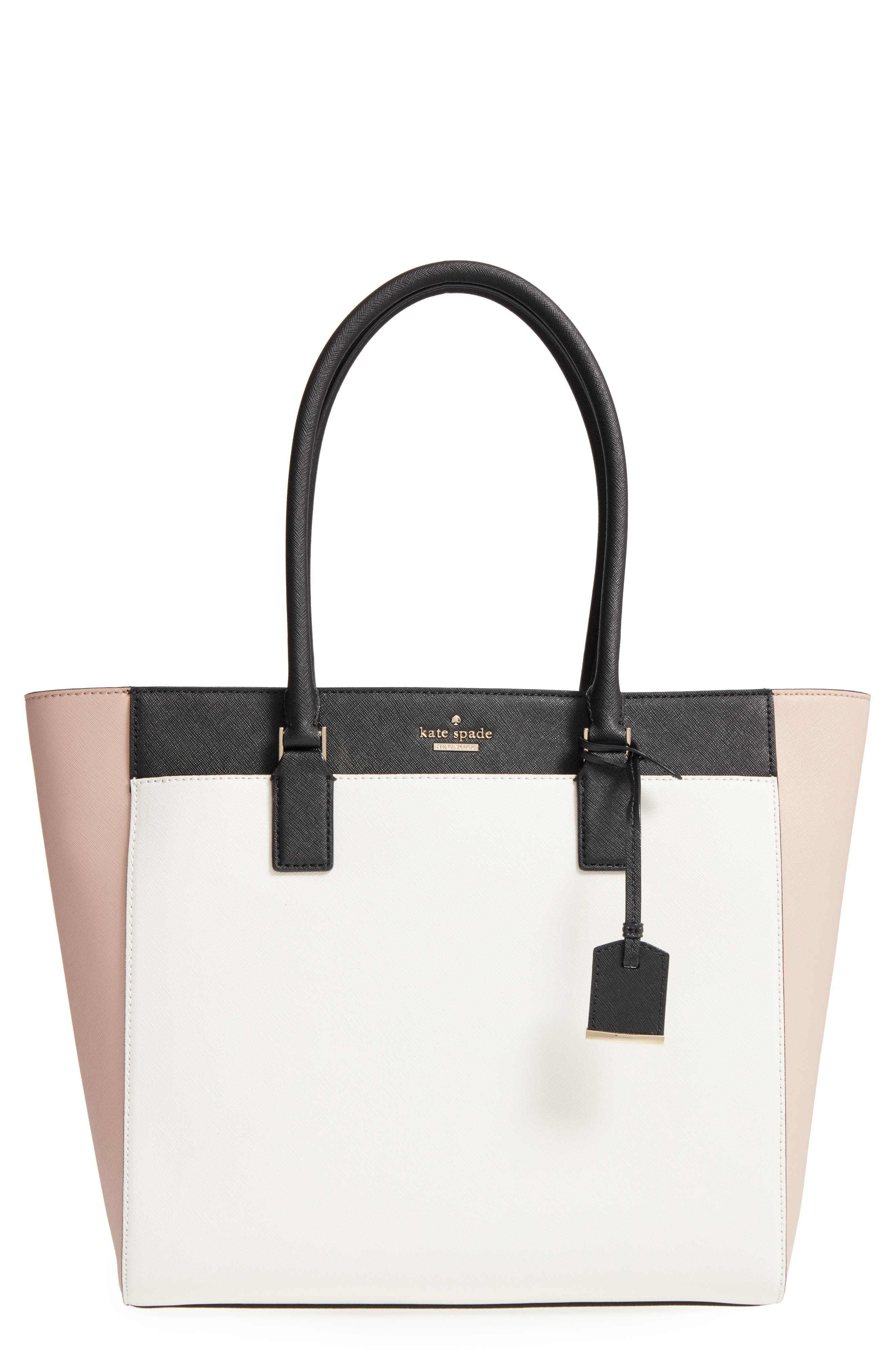 Alternate Image 1 Selected - kate spade new york 'cameron street - havana' textured leather tote