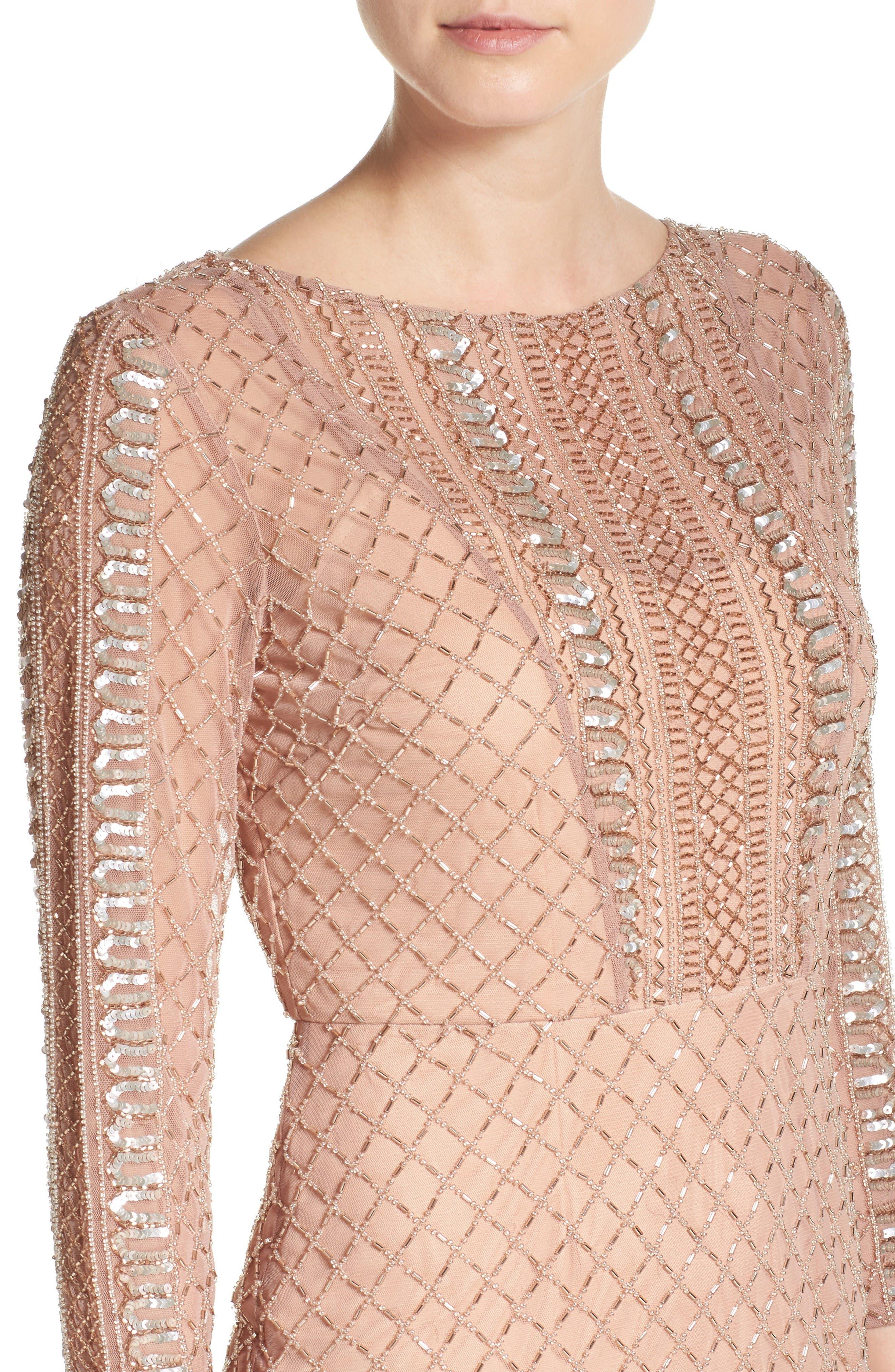 Alternate Image 5  - Adrianna Papell Sheath Dress