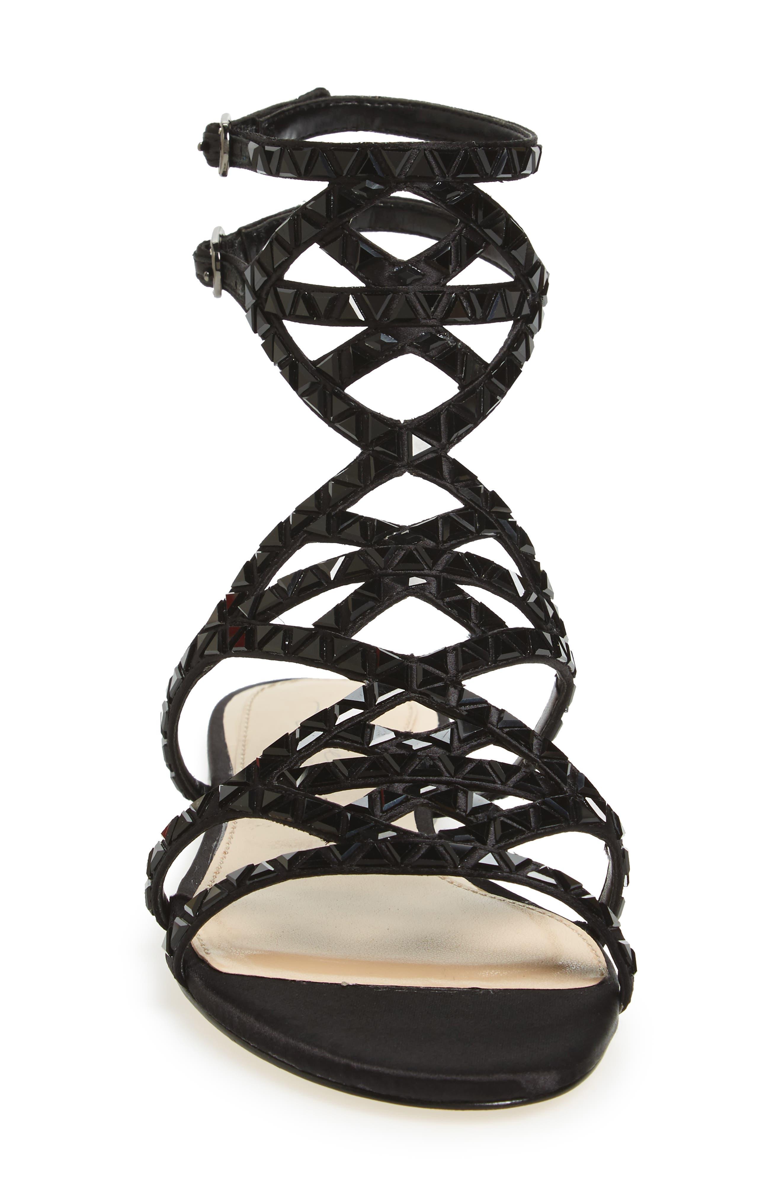 Alternate Image 3  - Imagine Vince Camuto Rettle Embellished Sandal (Women)