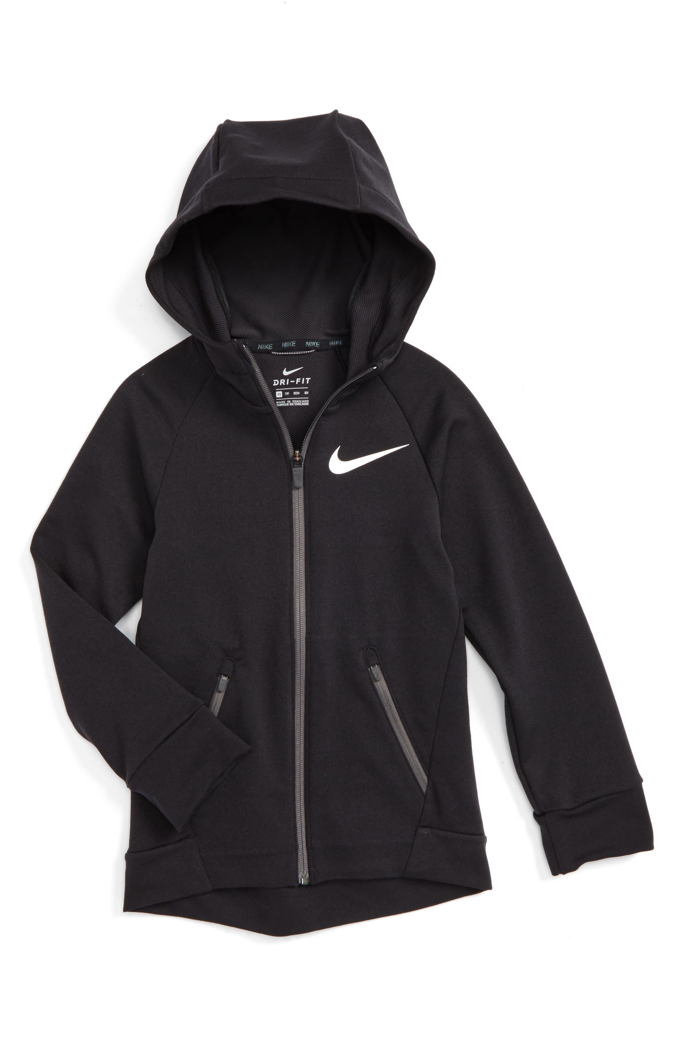 Nike Dri-FIT Hyper Fleece Hoodie (Little Boys & Big Boys)