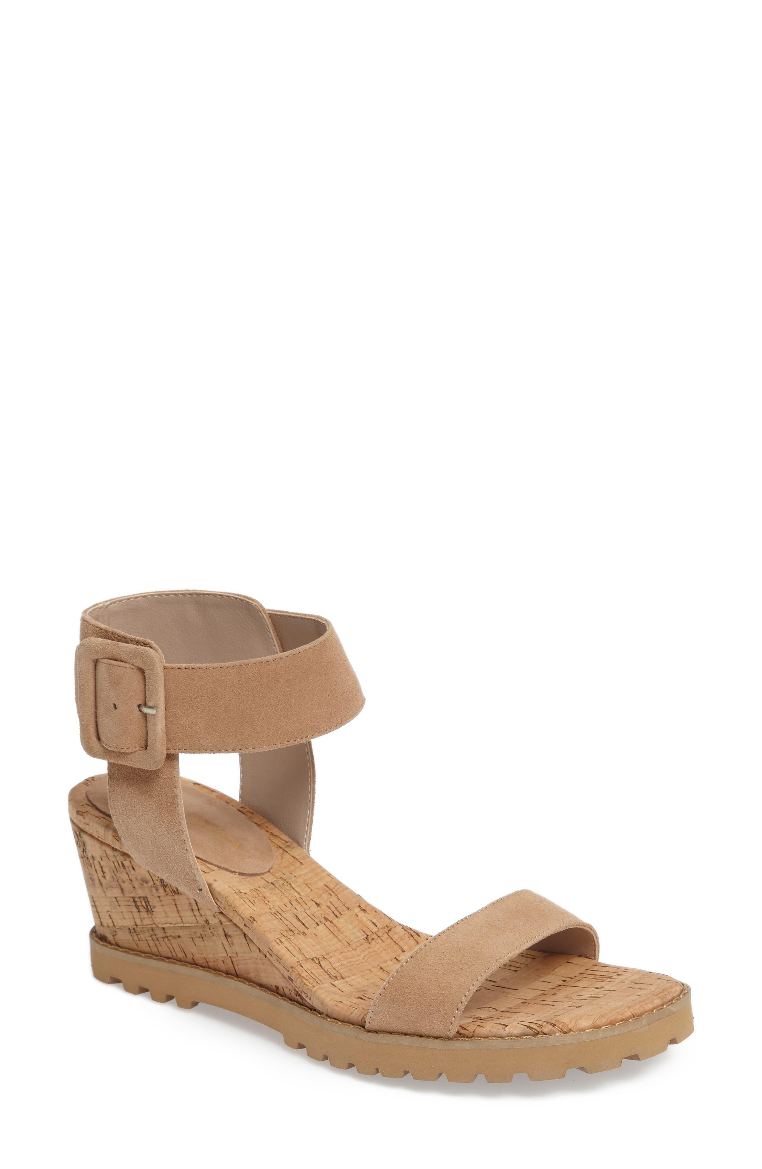 Pelle Moda Rian Wedge Sandal (Women)