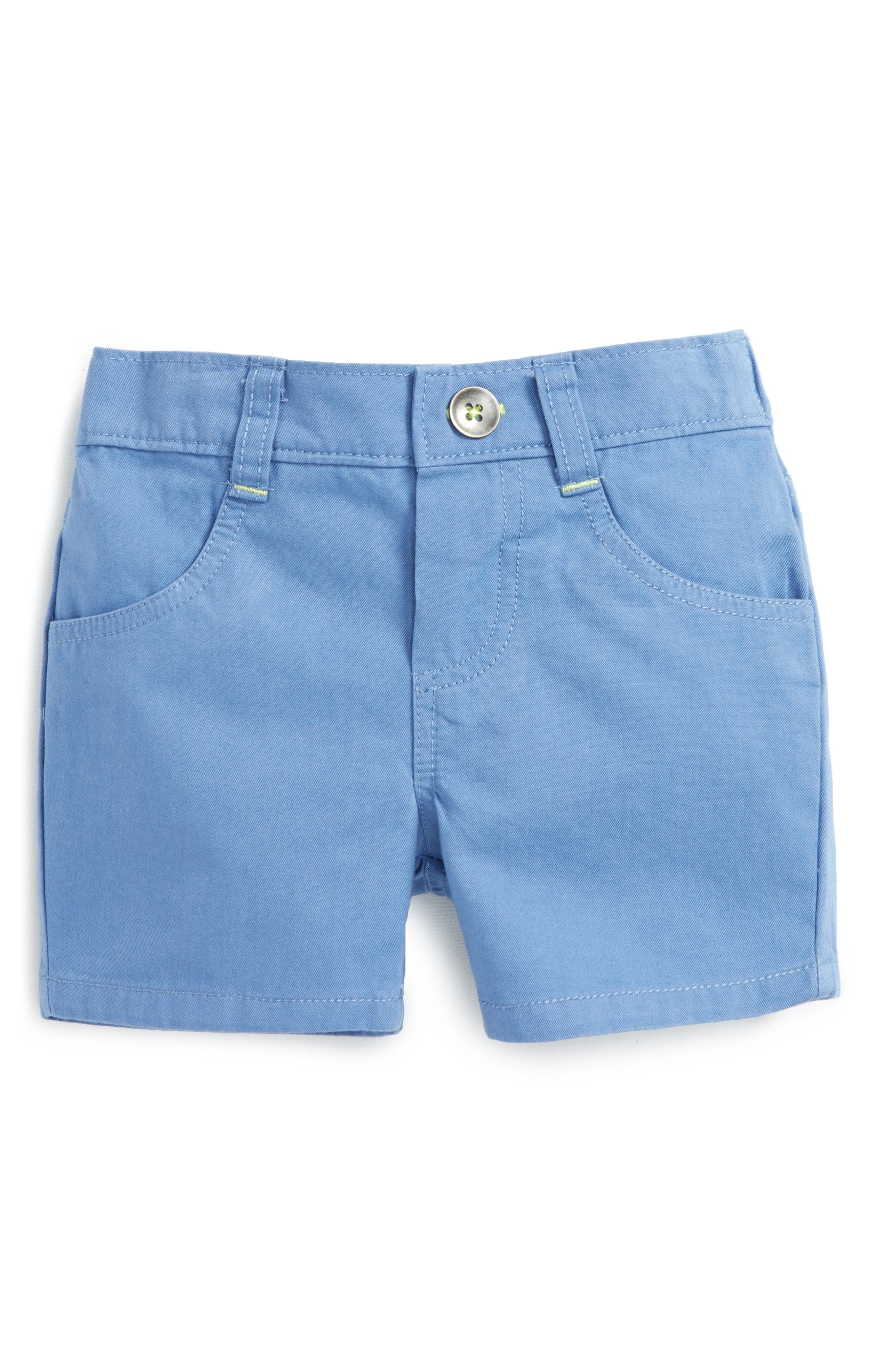 Robeez® Cotton Twill Shorts (Baby Boys)
