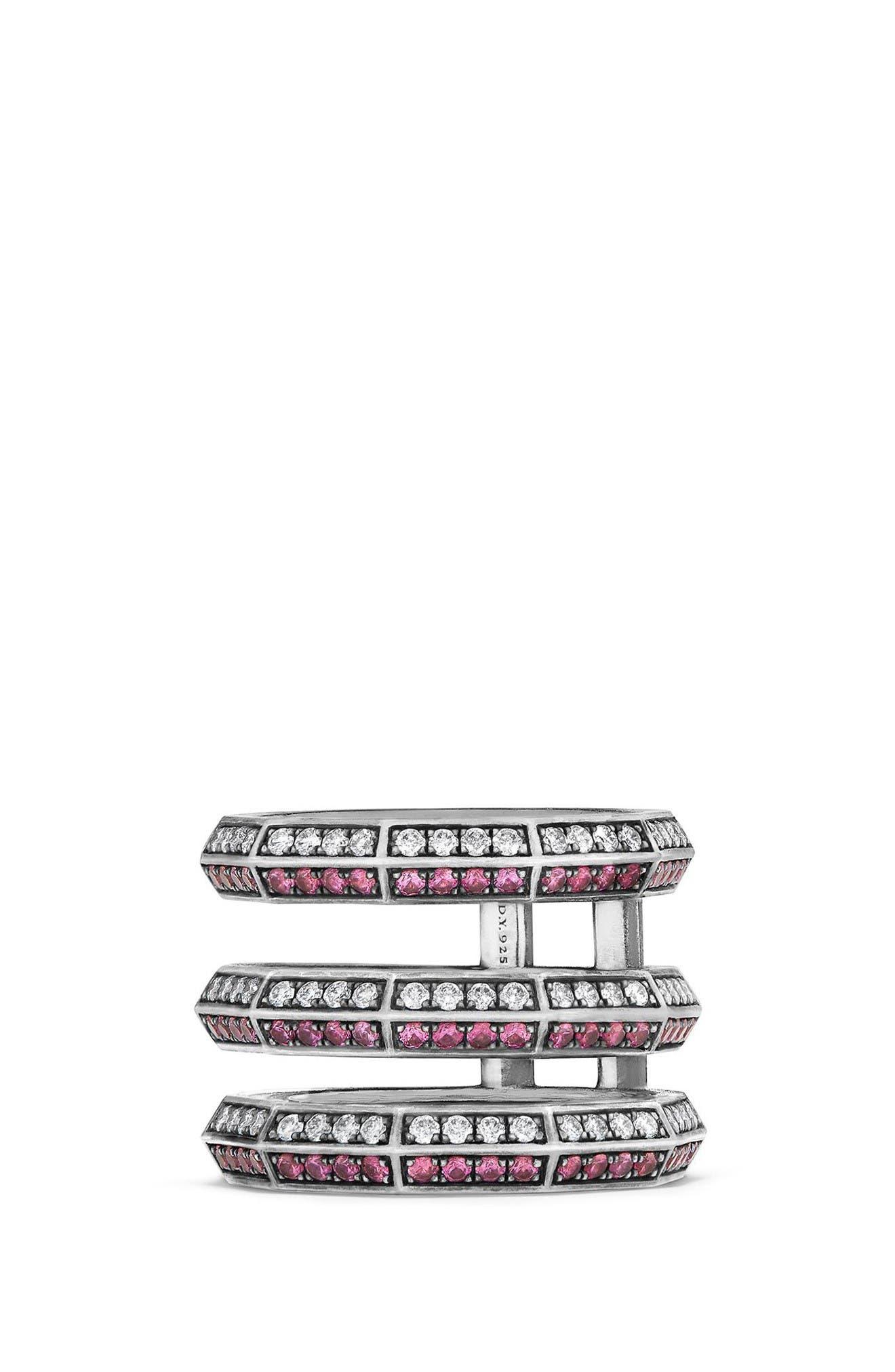 David Yurman Stax 3-Row Ring